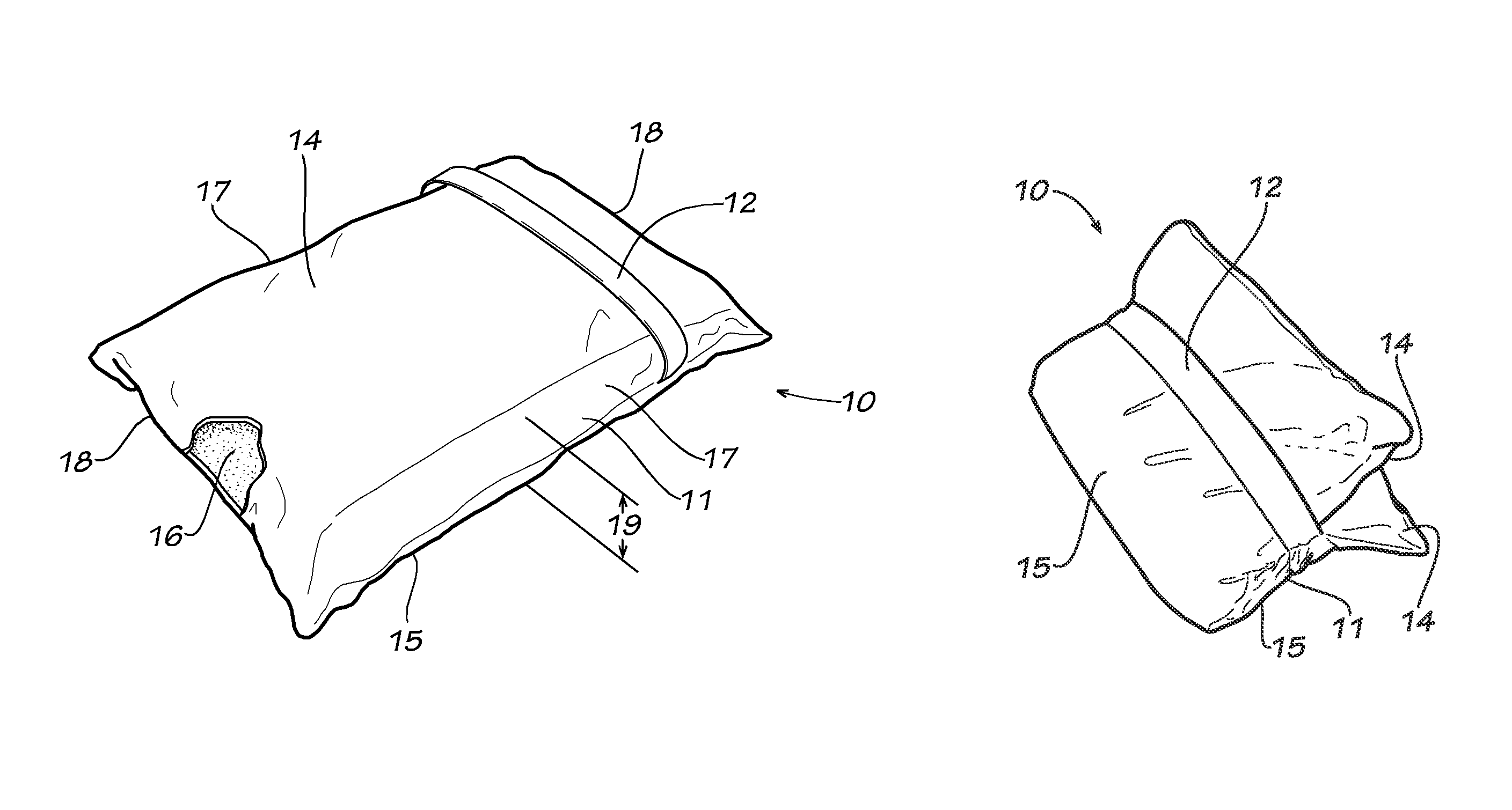 Patent US8327483 - Foldable pillow - Google Patents