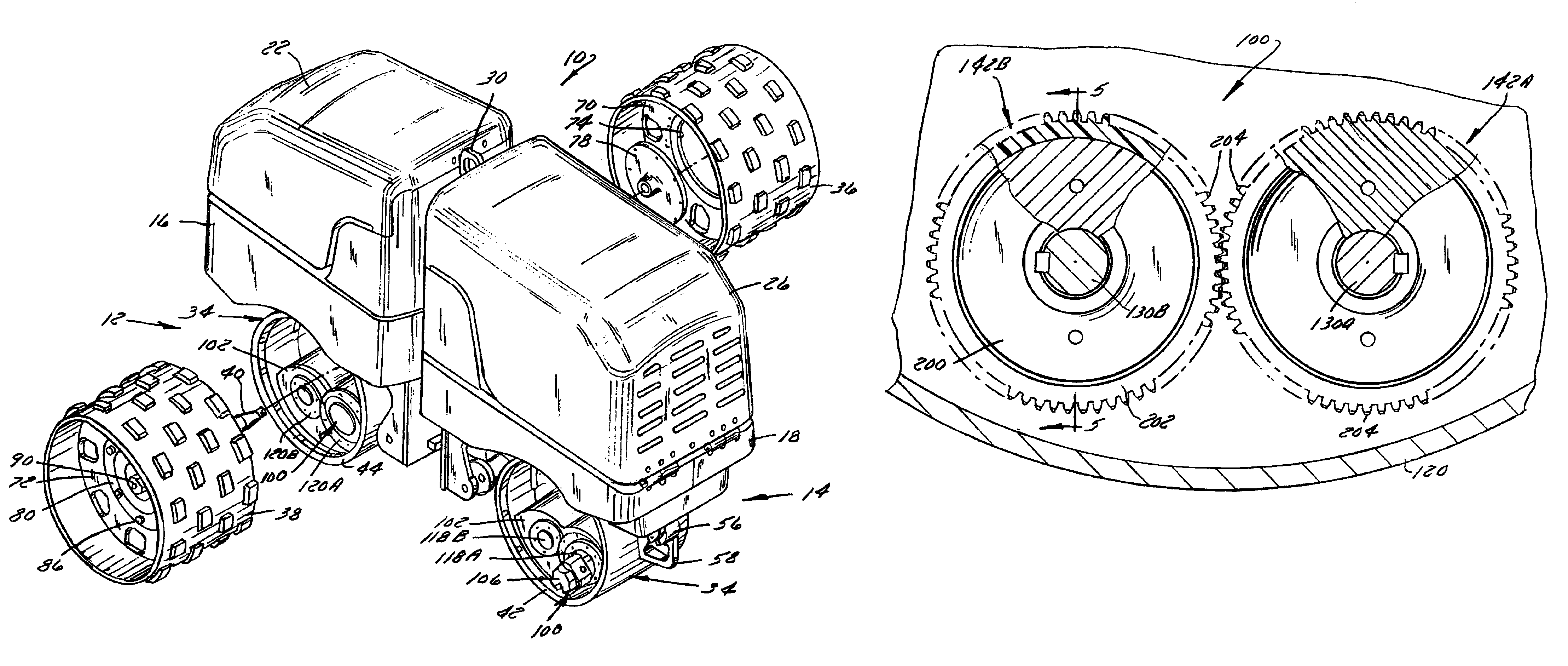 Patent US8328464 - Vibratory roller with composite exciter