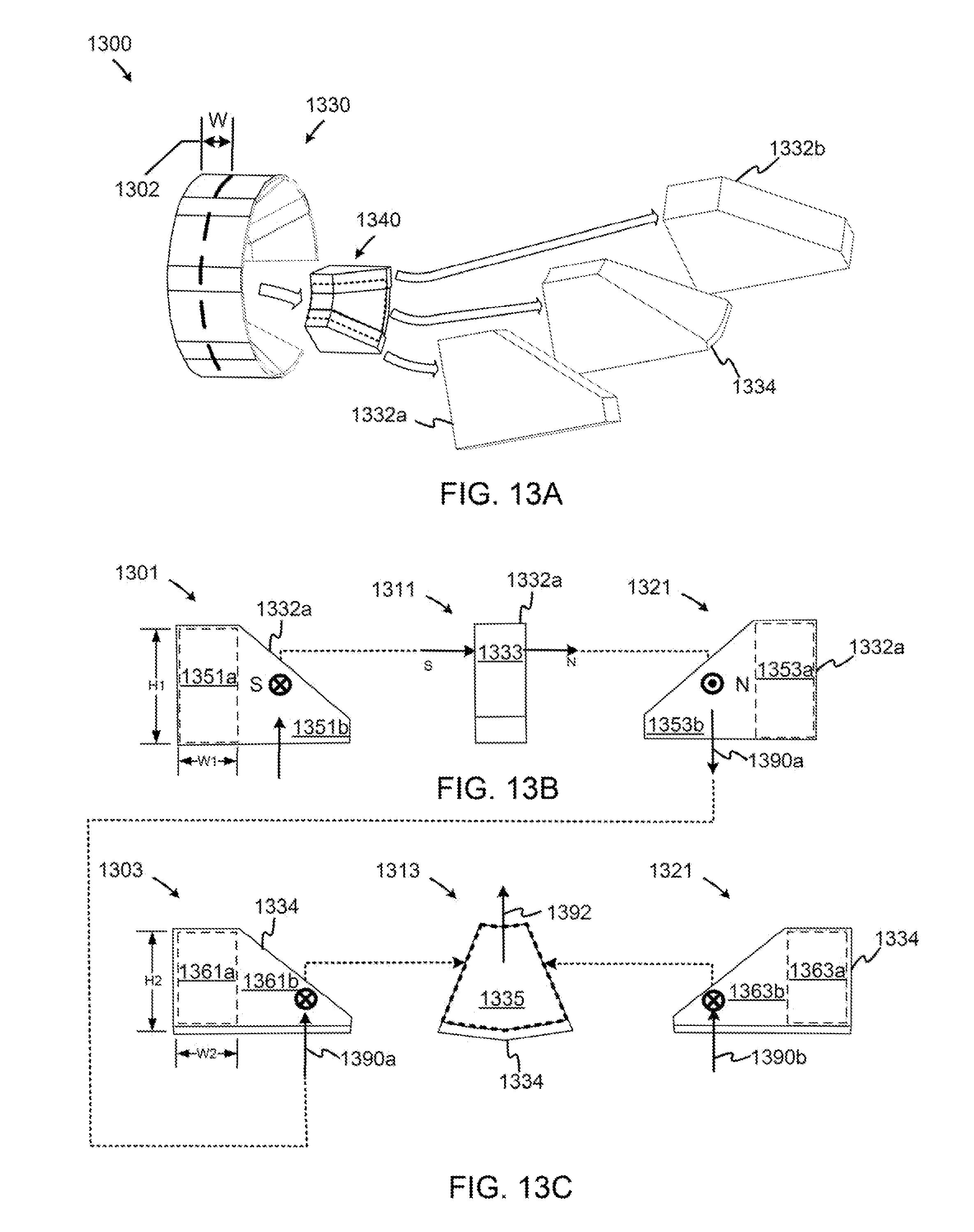 براءة الاختراع US8330316 - Rotor-stator structures including