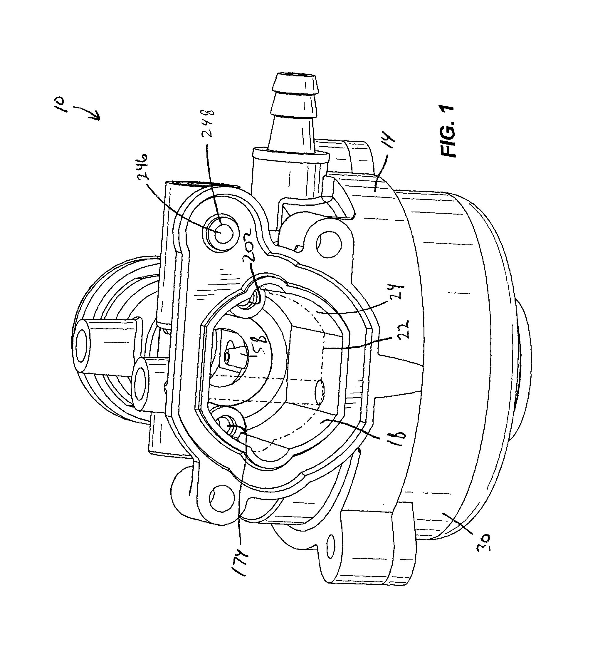 Brevet Us8333366 Carburetor Including One Piece Fuel Metering Zenith Stromberg Parts Diagram Besides Patent Drawing