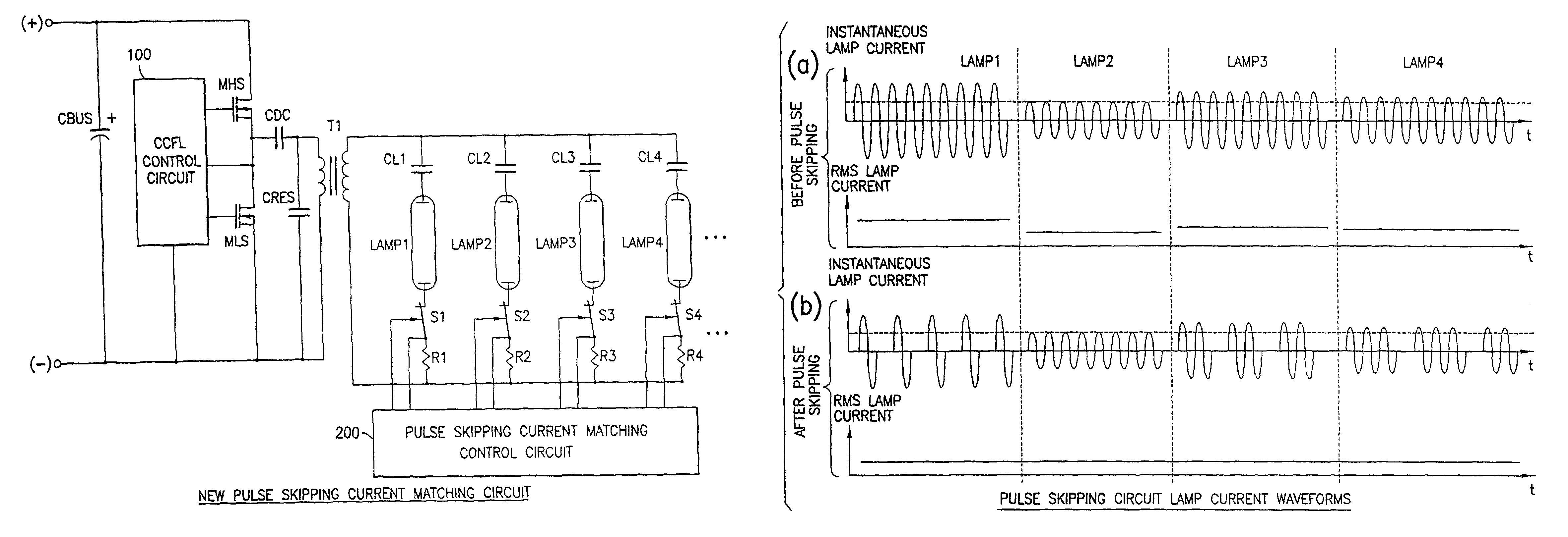 Patent Us8344658 Cold Cathode Fluorescent Lamp Multiple Light Circuit Diagram Drawing