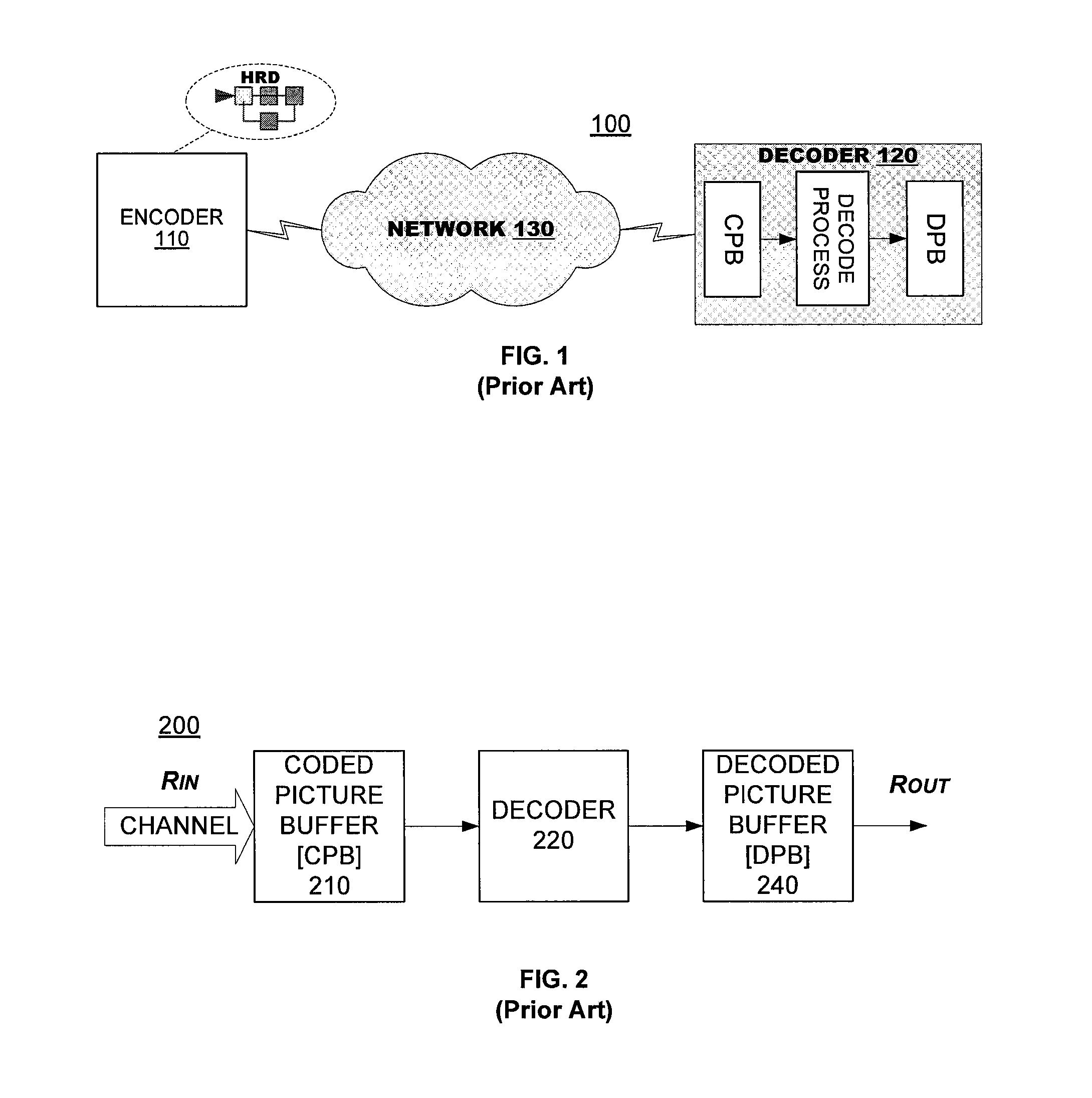 Patent Us8345774 Hypothetical Reference Decoder Google Patents H 264 Block Diagram Drawing