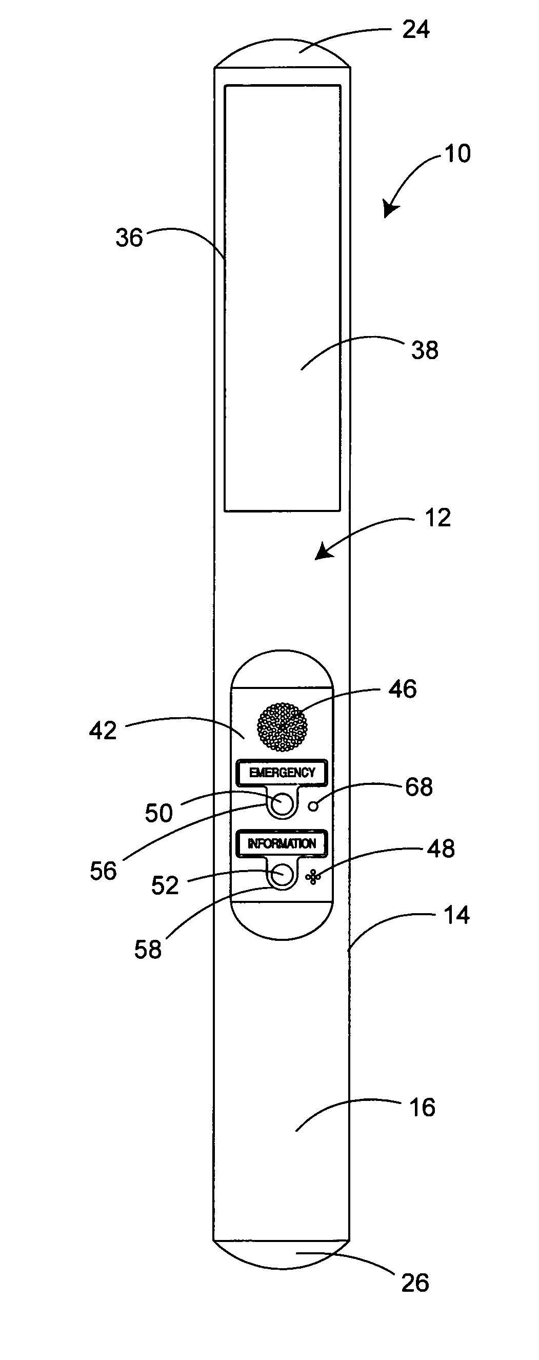 Handfree Switch Device For Wireless Intercom Google Patents Wire 10pcsfr4coppercladcircuitboardsinglepcb70x100x15mmstable Patent Us8345845 Public Communications System Rh Com Pg