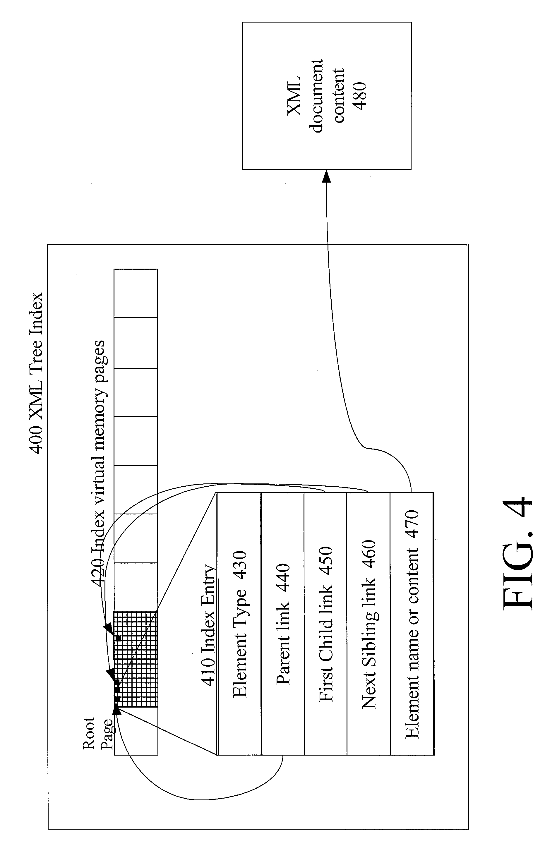 patent us8346813 using node identifiers in materialized xml views