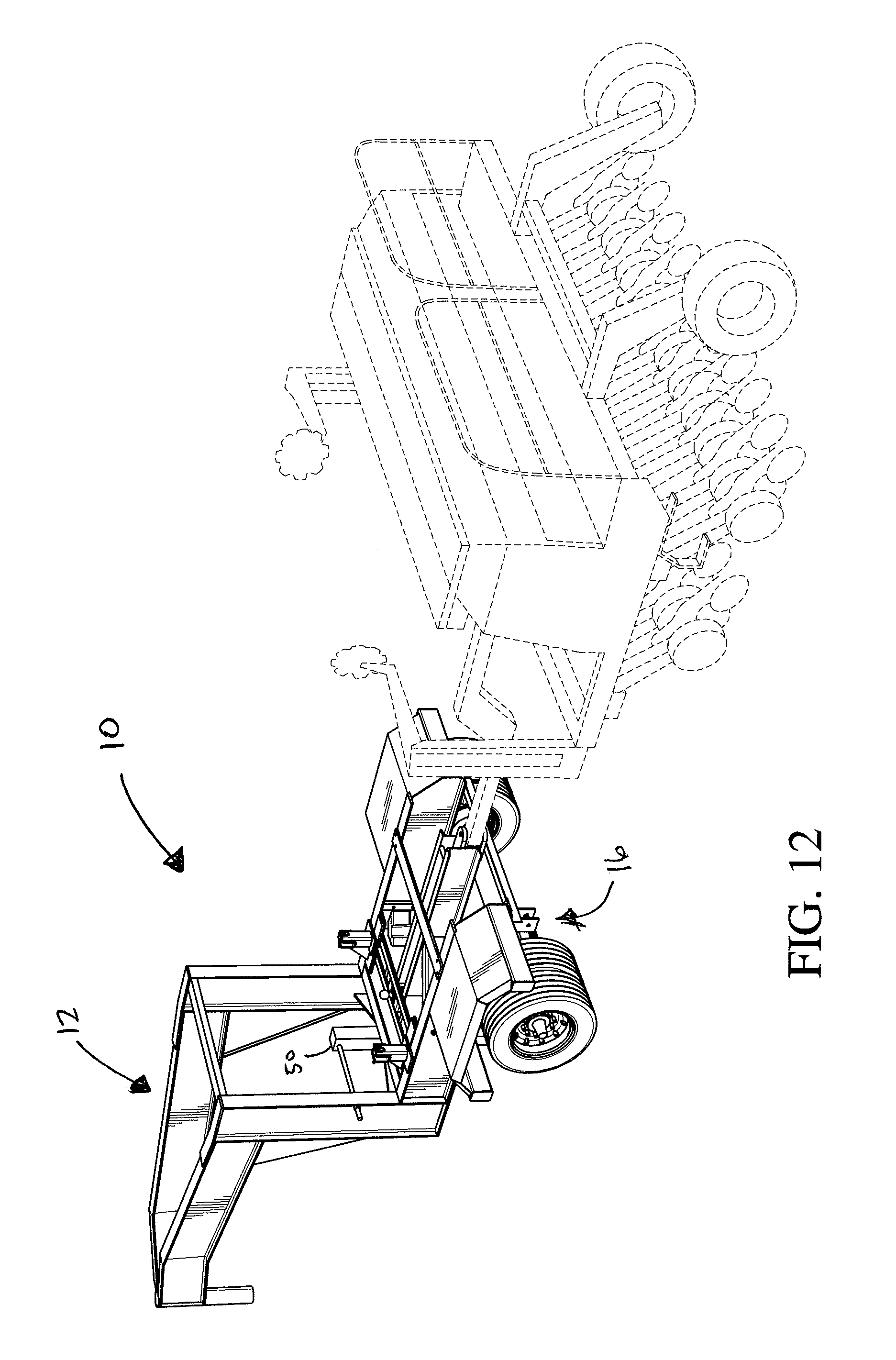 patent us8353521 trailer caddy patents  patent drawing