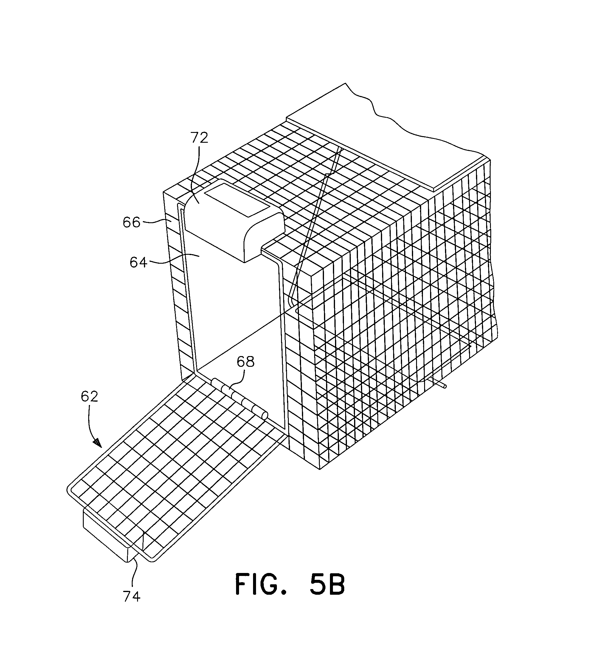 Patent Us8359783 Remote Controlled Cage Trap Door