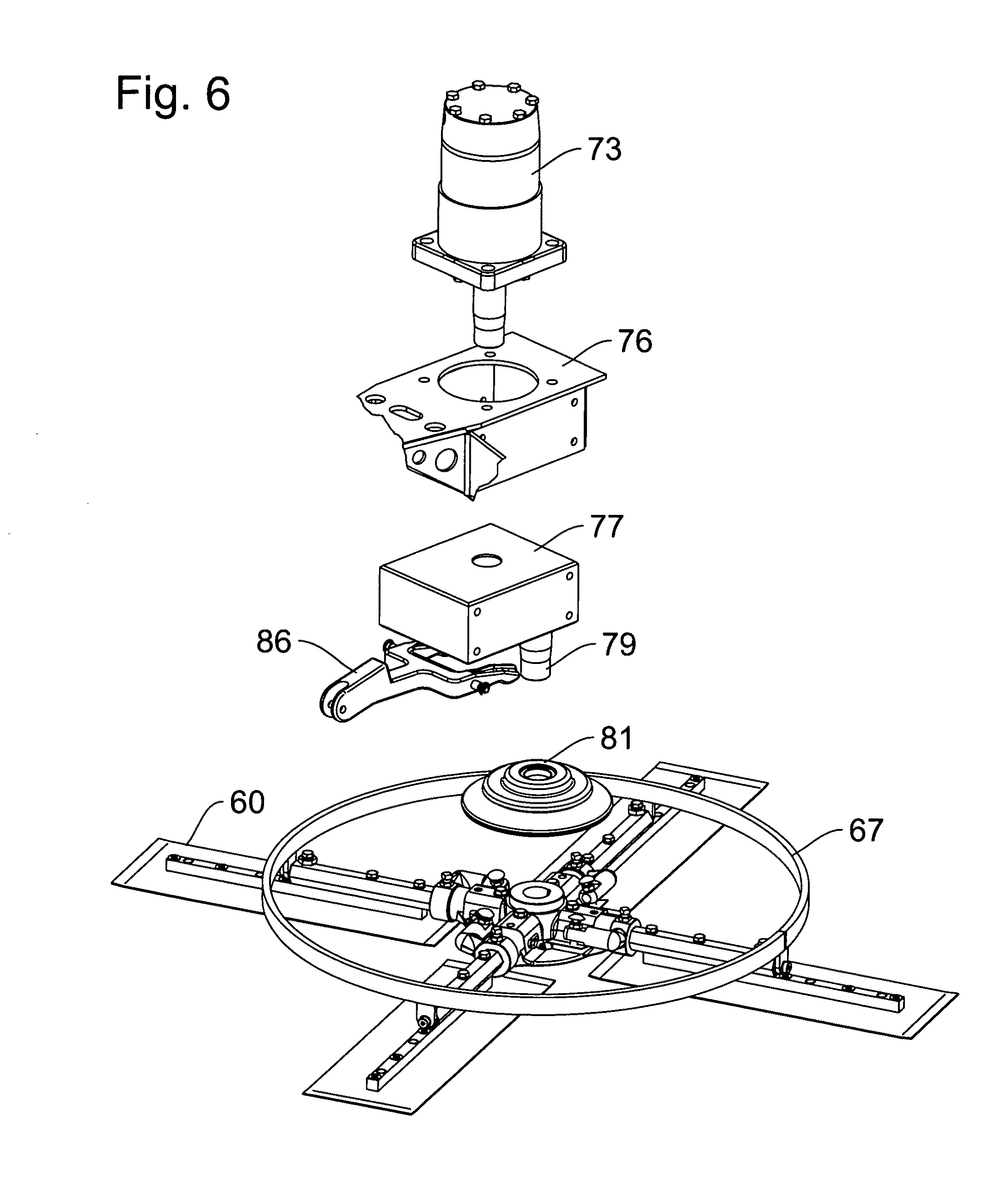 Patent Us8360680 Hydraulic Riding Trowels With Automatic