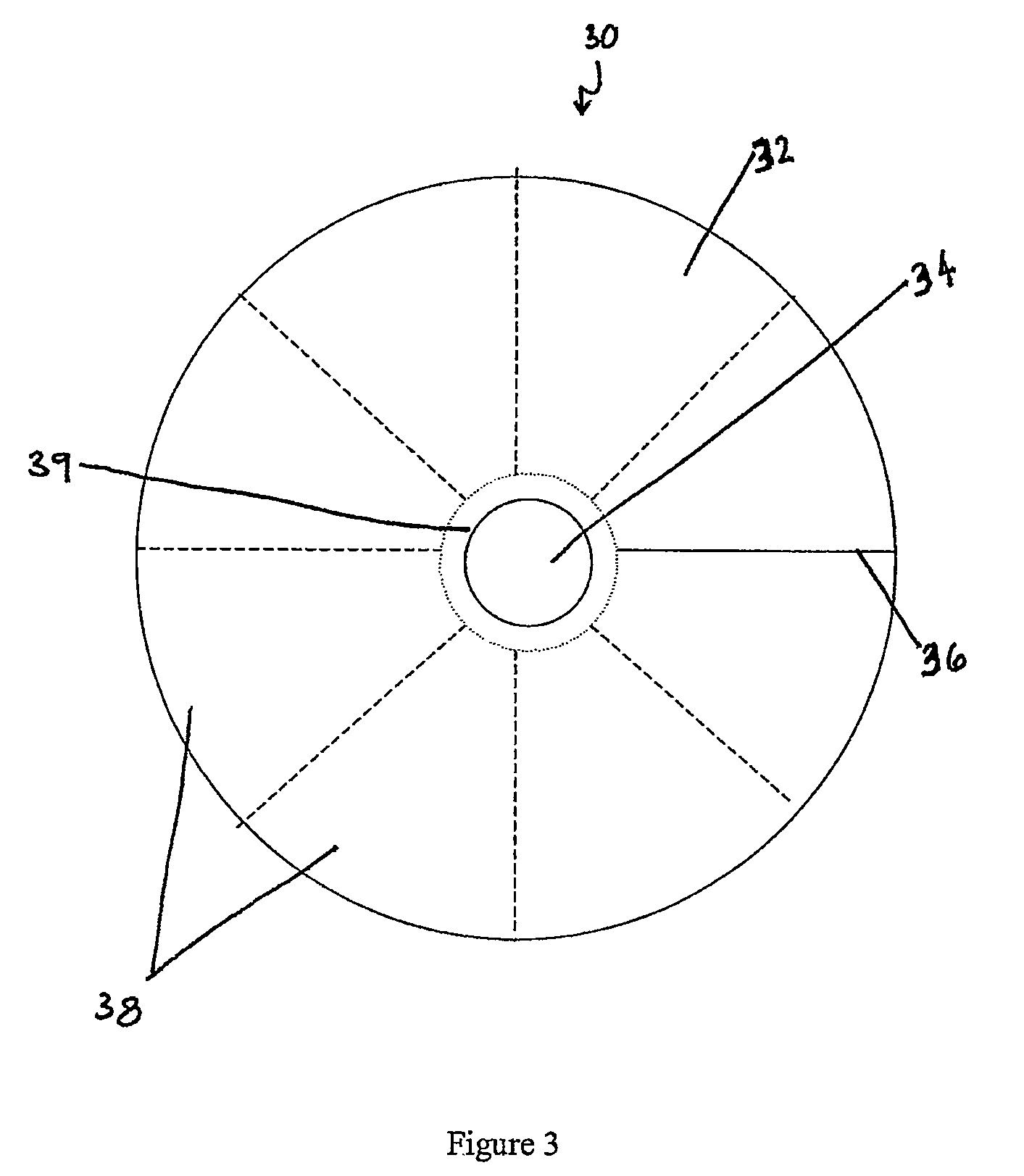 Patent us8372157 joint revision implant google patents for Truncated cone template