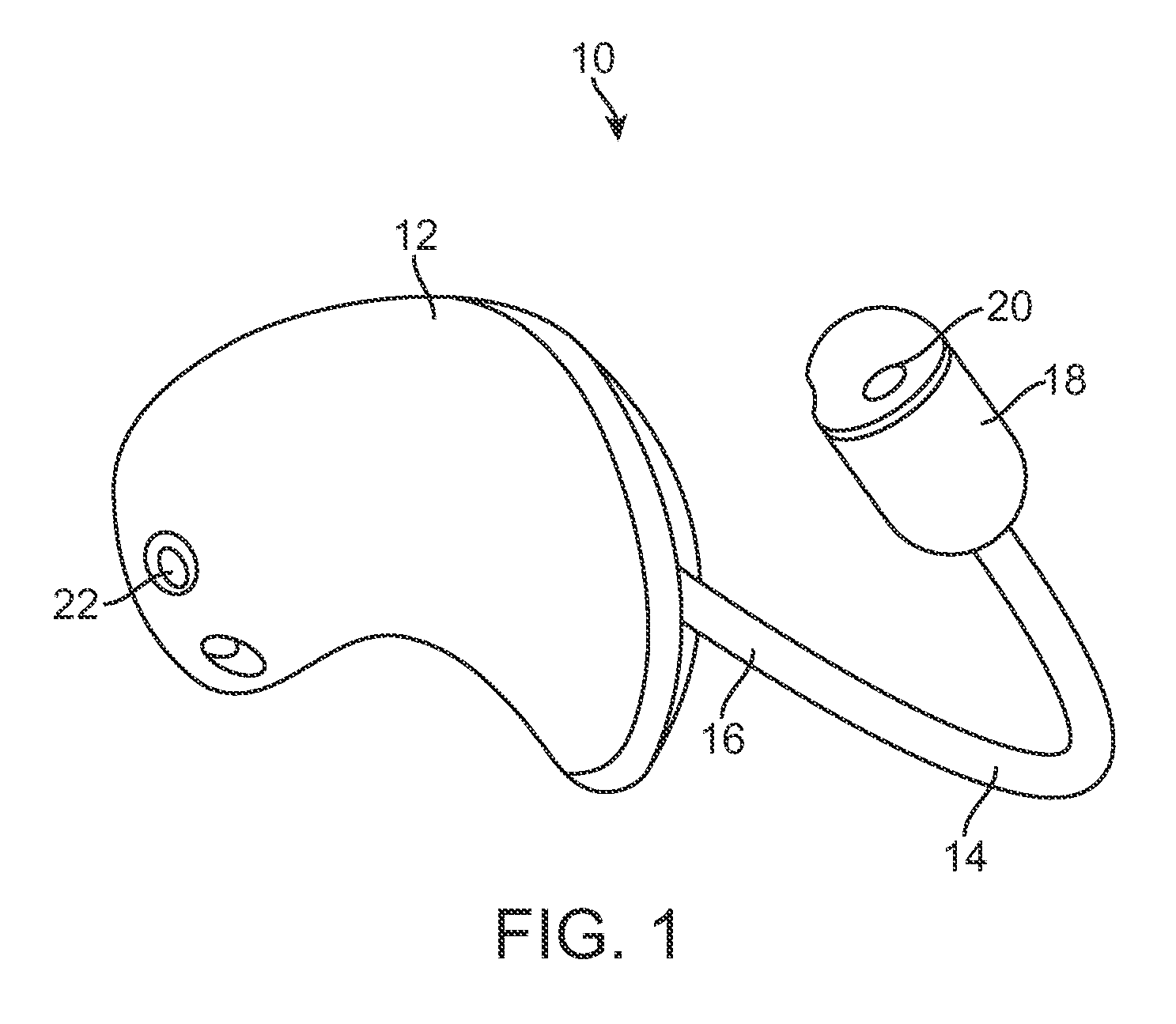 patent us8374367 - hearing aid with a flexible elongated member