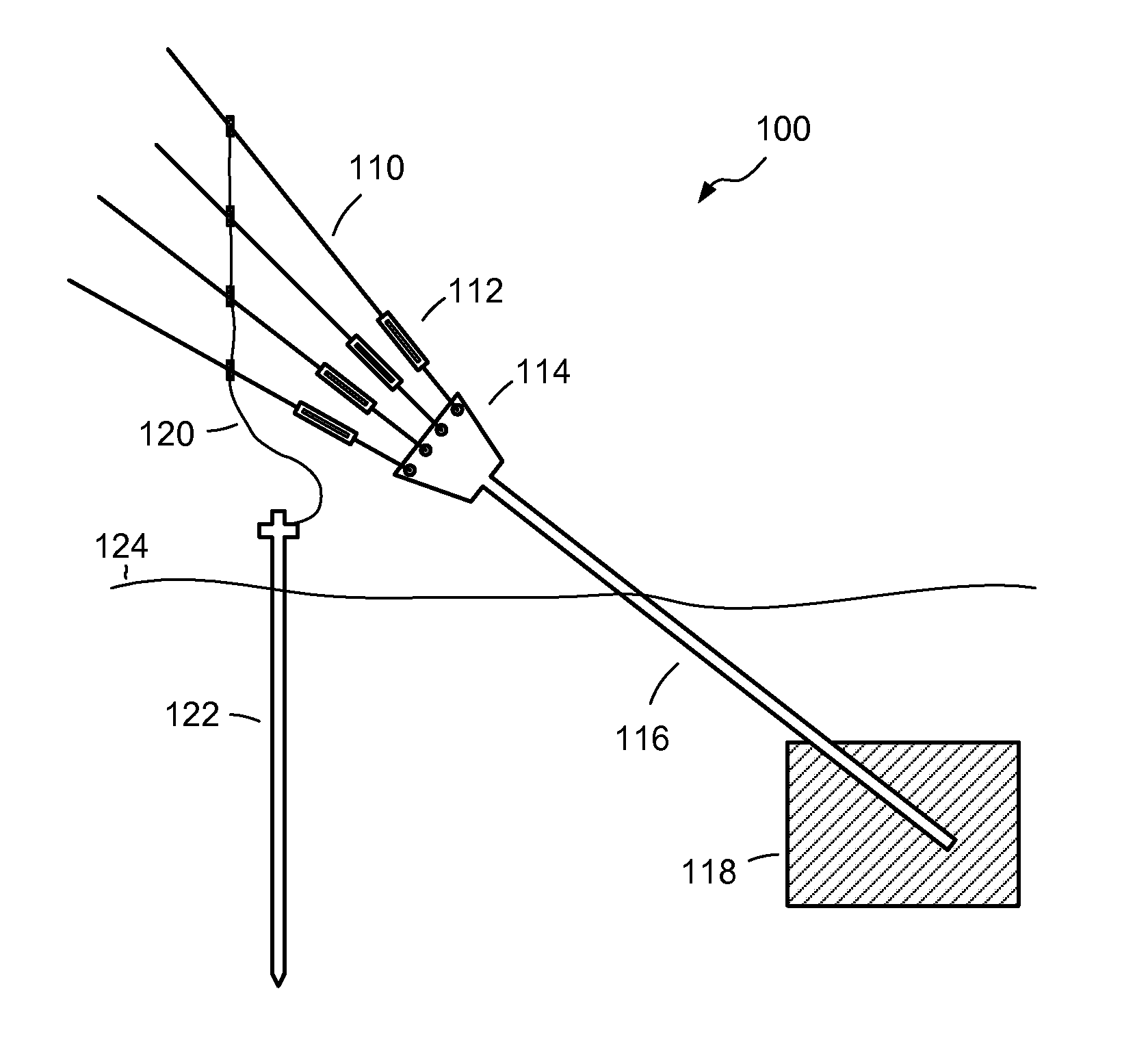 Patent US8375651 - Modular guy anchor - Google Patents