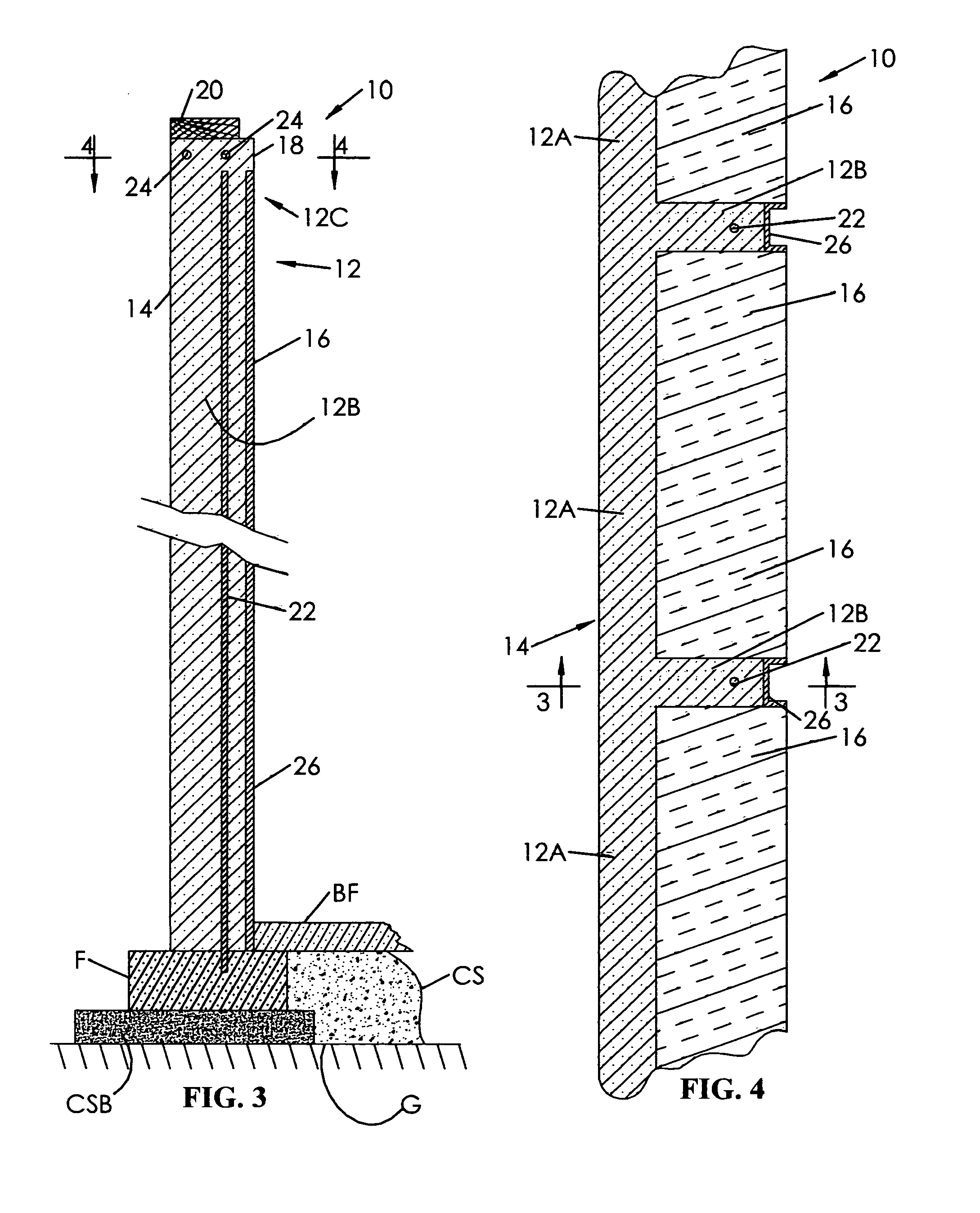 Patent Us8375677 Insulated Poured Concrete Wall