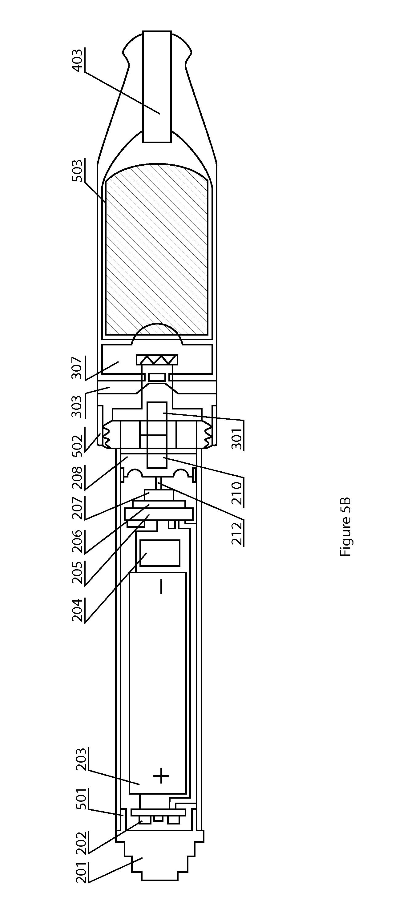 patent us8375957 - electronic cigarette