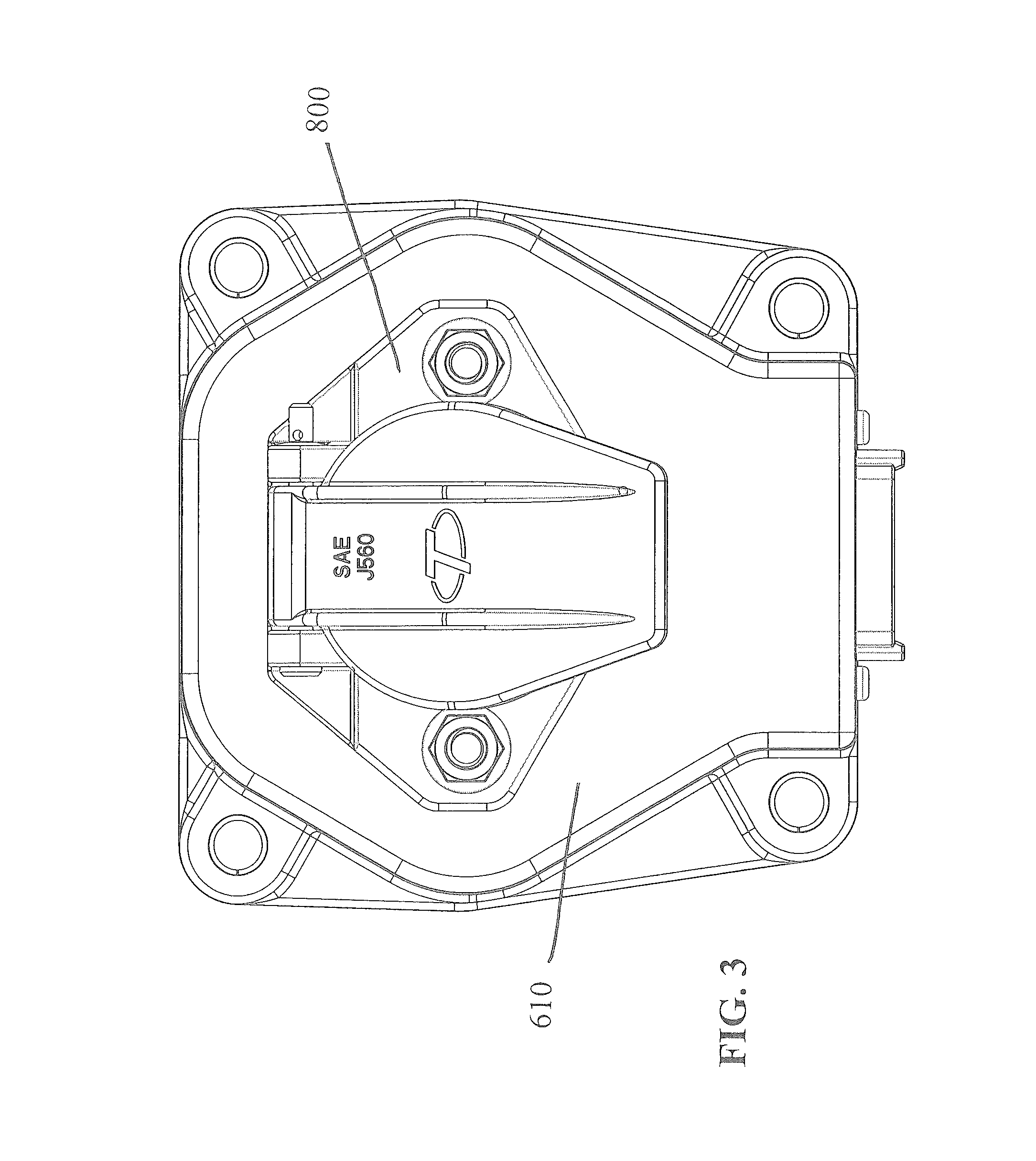 patent us8376758 - receptacle with printed circuit board