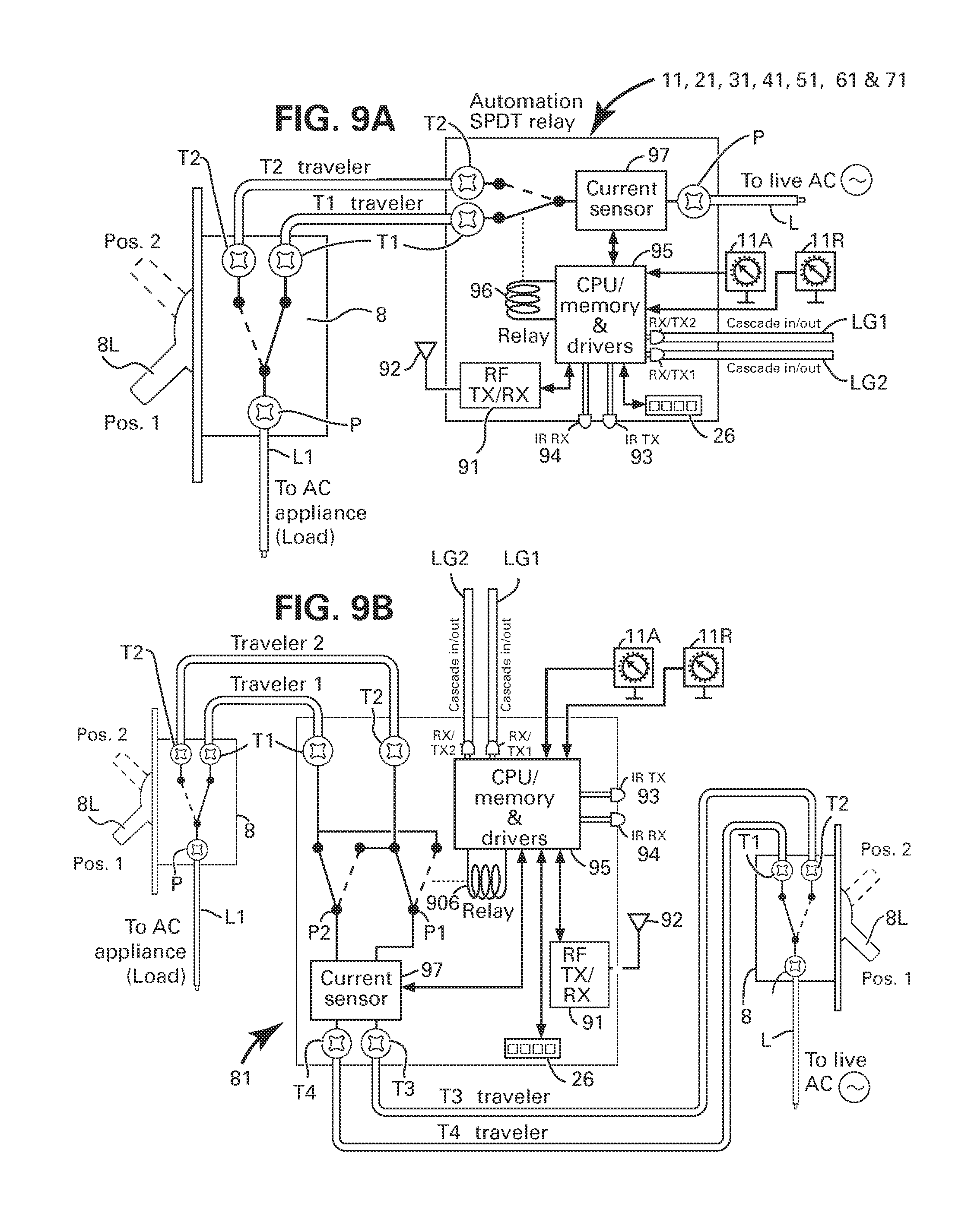 spdt diagram wiring diagram database 2-Way Light Switch Wiring Diagram patent us8384249 method and apparatus for bining ac power relay spdt schematic patent drawing