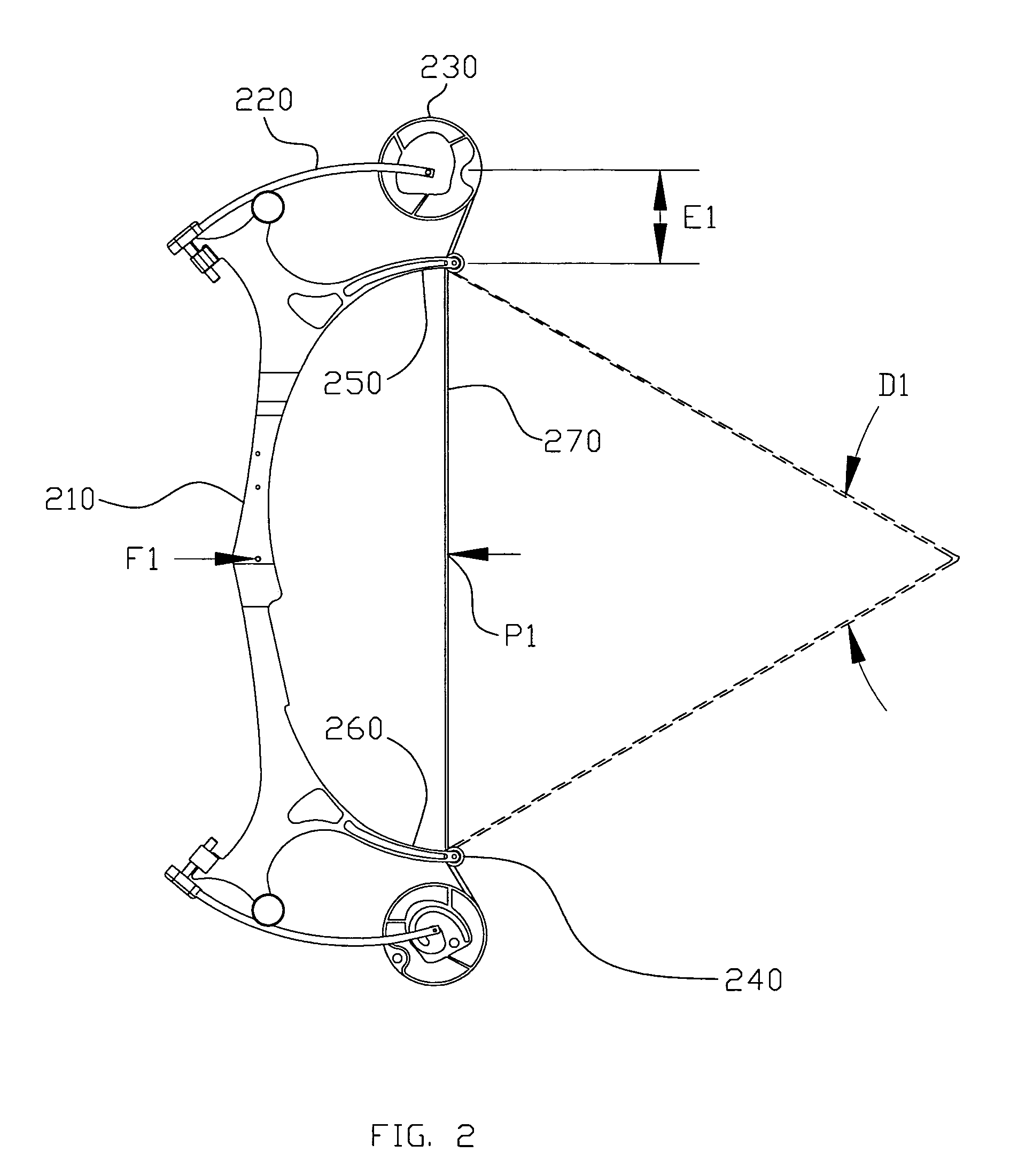 patent us8387604 - compound bow