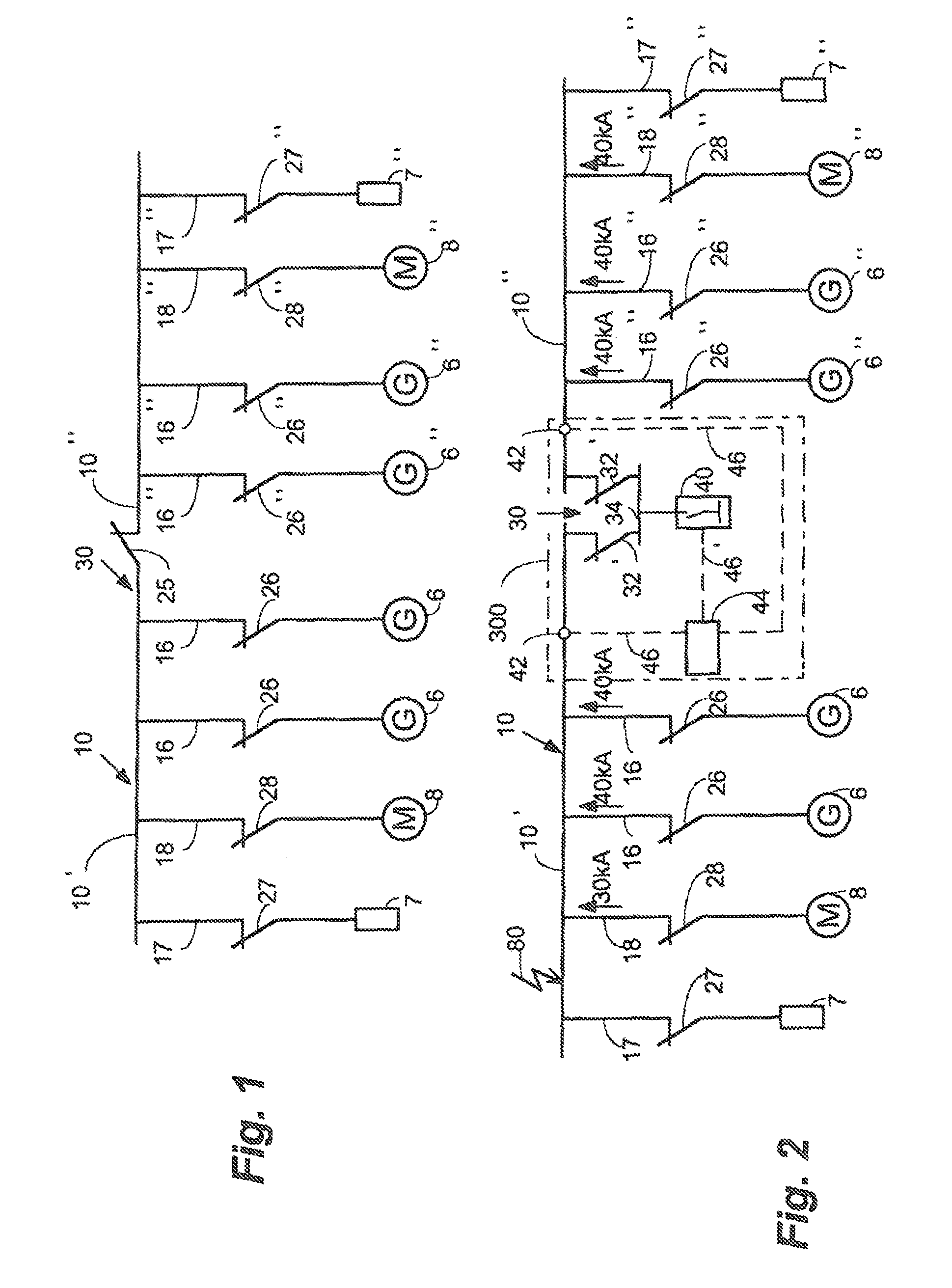 Patent Us8400740 Short Circuit Limiting Device In A Low Voltage Electronic Crowbar For Ac And Dc Lines Drawing