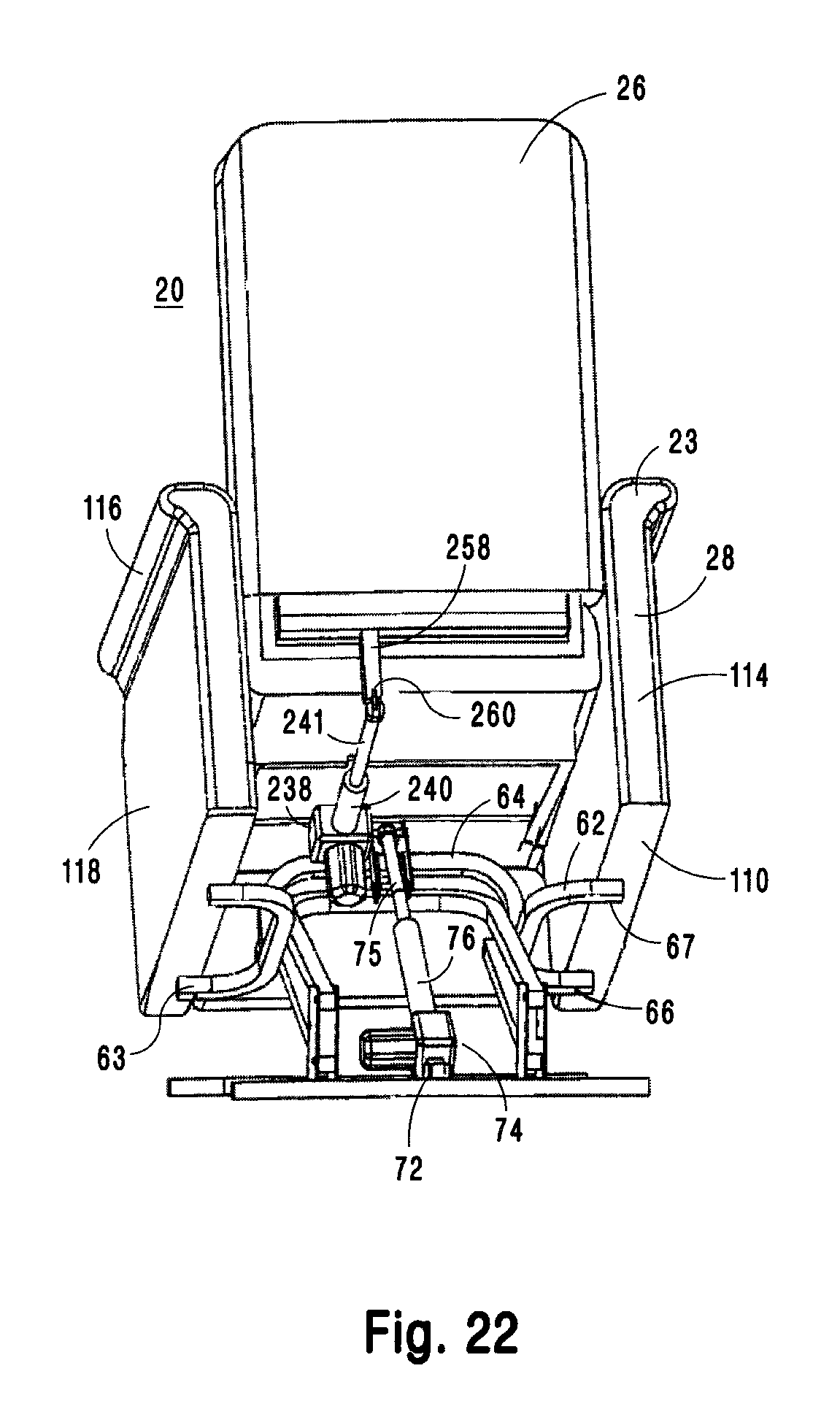 Patent Us8403409 Lift Chair And Recliner Google Patents