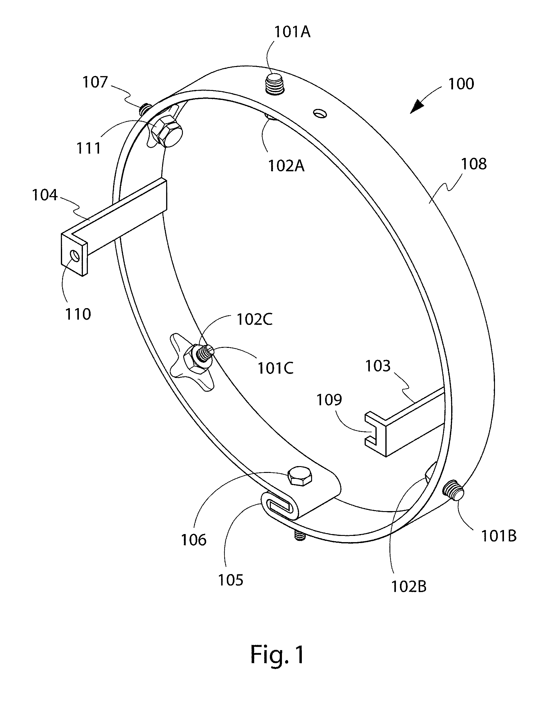 Patent Us8403513 Pool Light Adapter Ring Google Patents