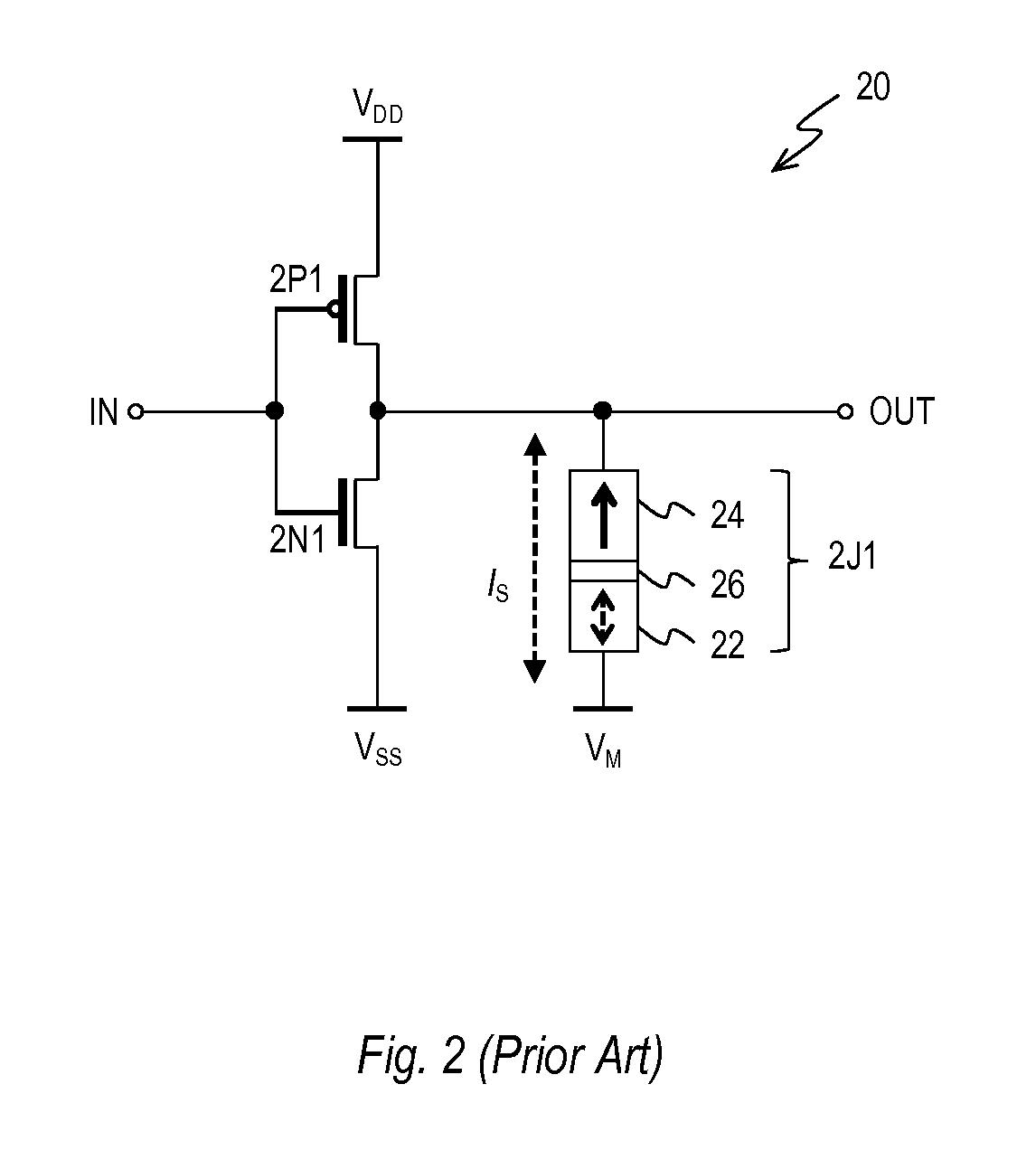 patent us8405421 - nonvolatile full adder circuit