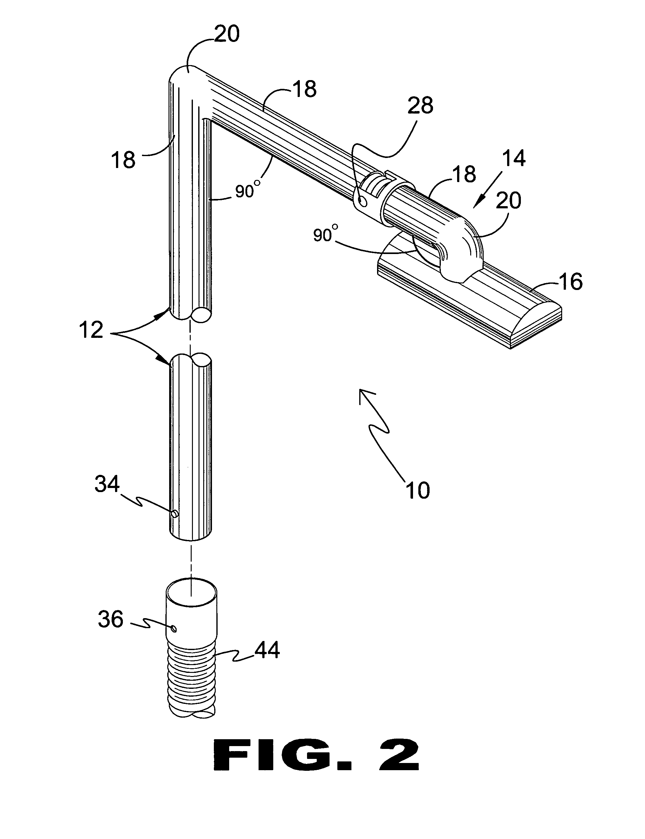Patent Us8407853 High Place Vacuum Cleaner Attachment