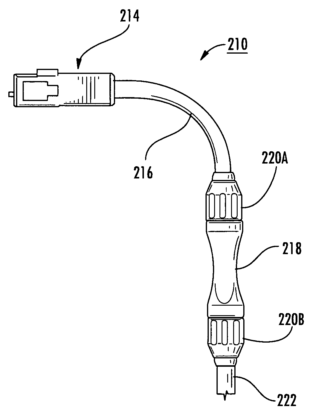 patent us8408811 fusion splice fiber optic connectors and related Wire Connector Types patent drawing
