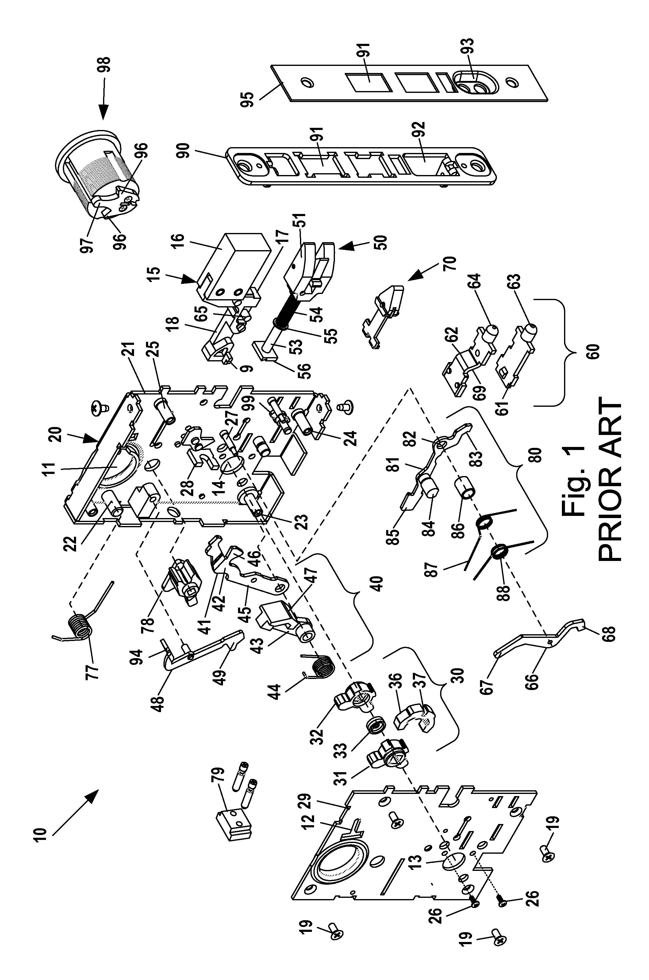schlage mortise lock parts breakdown