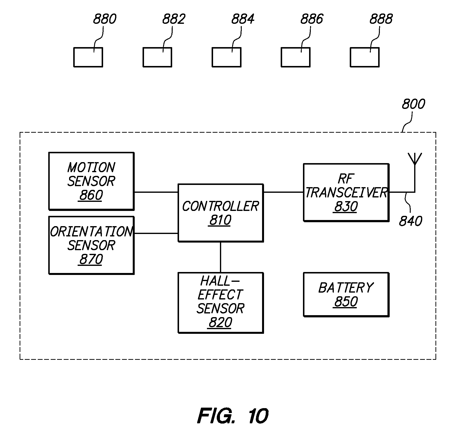 Patent Us8421448 Hall Effect Sensor System For Gesture Recognition Diagram Drawing