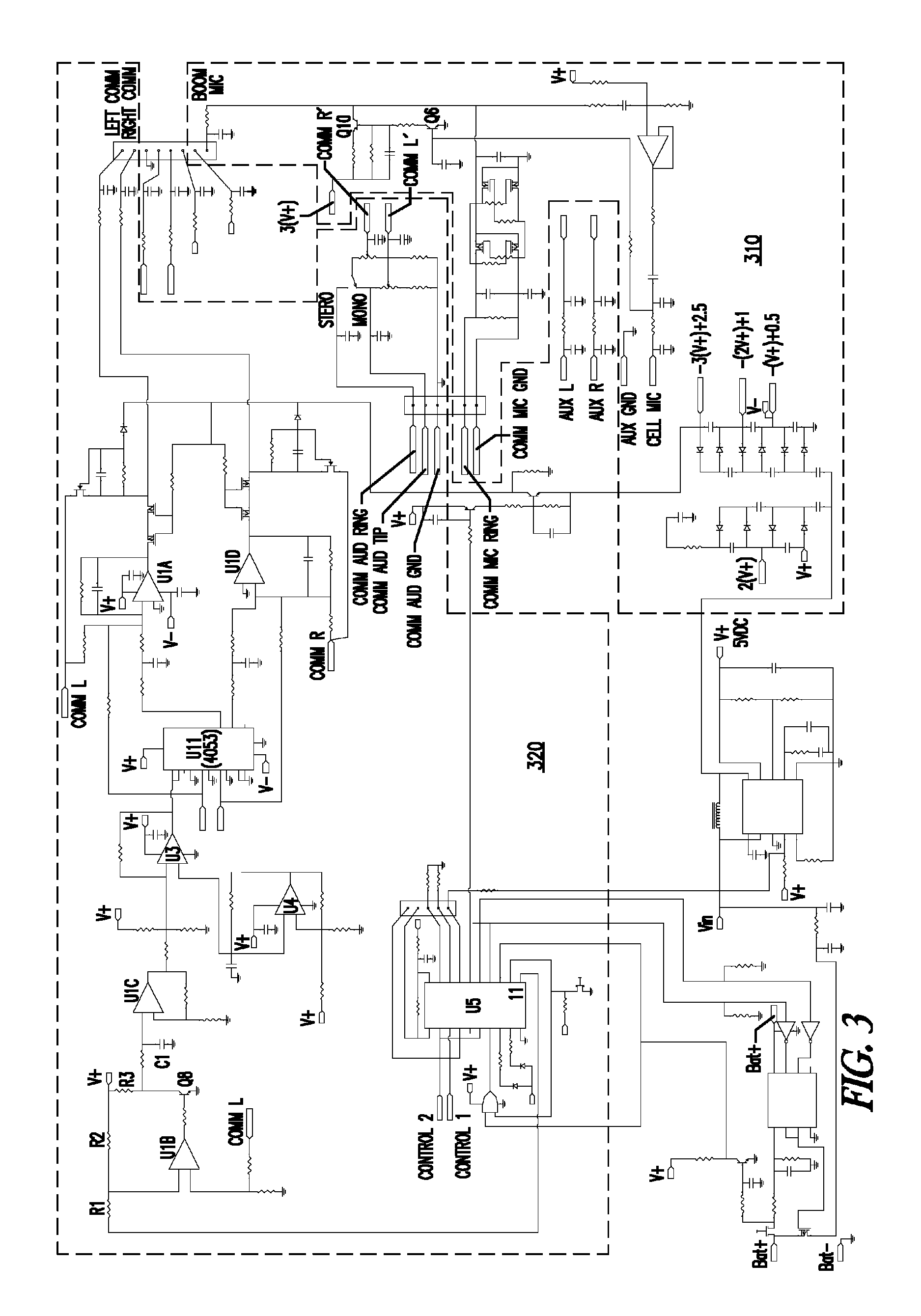 Headset Wiring Diagram Free For You Iphone Schematics Patent Us8437812 With Auxiliary Input S Jack Aviation