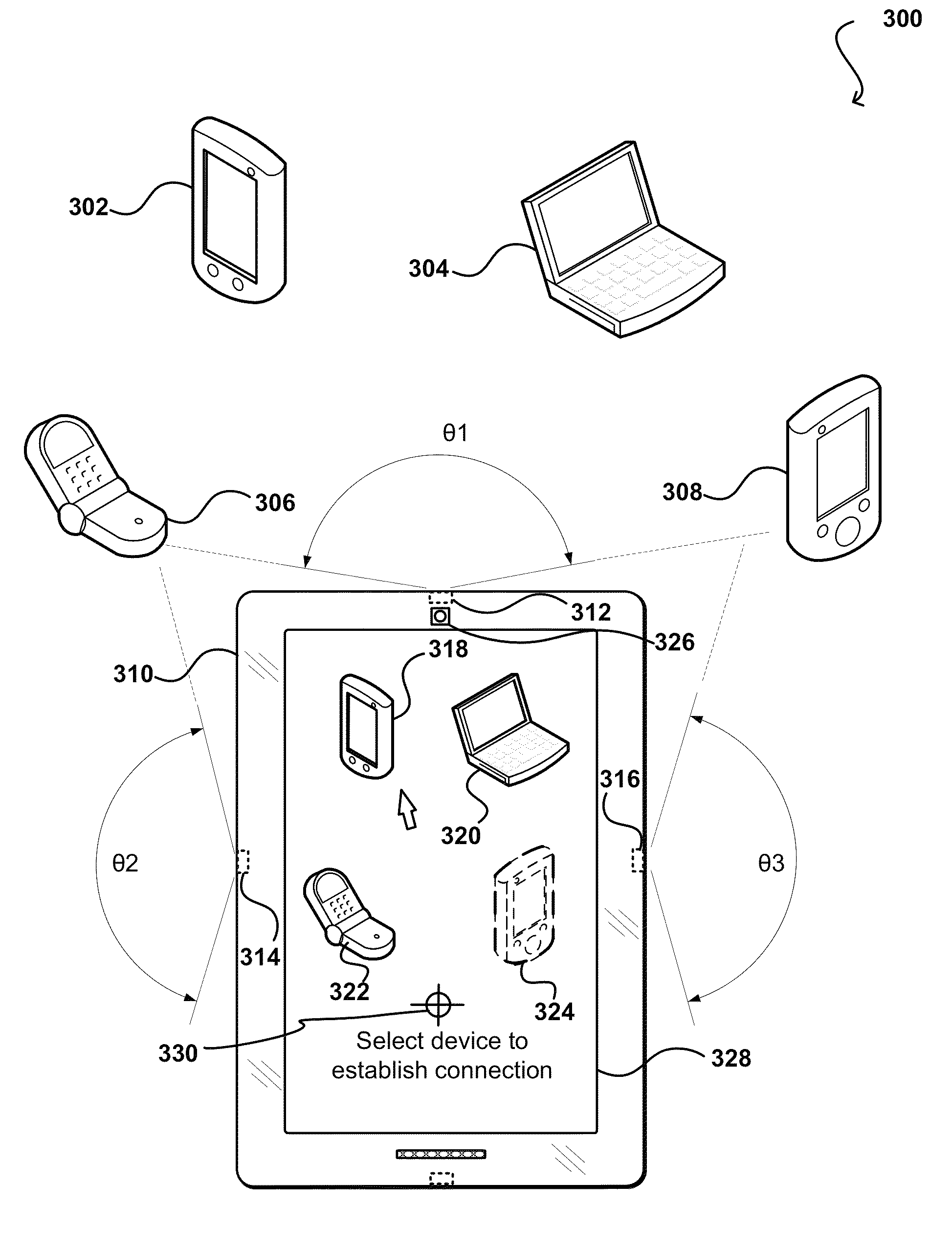 Amazon   patent by Jeff Bezos from 2013 for approaches for device location and communication - US8447070