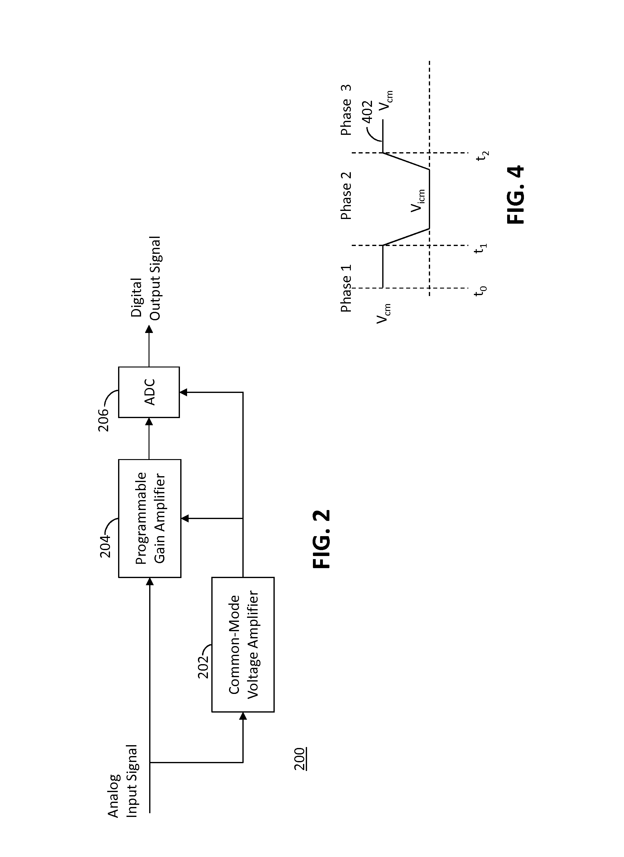Patent Us8456337 System To Interface Analog Digital Converters Amplifier Circuit With Common Mode Signal Input Amplifiercircuit Voltage Images5 Drawing