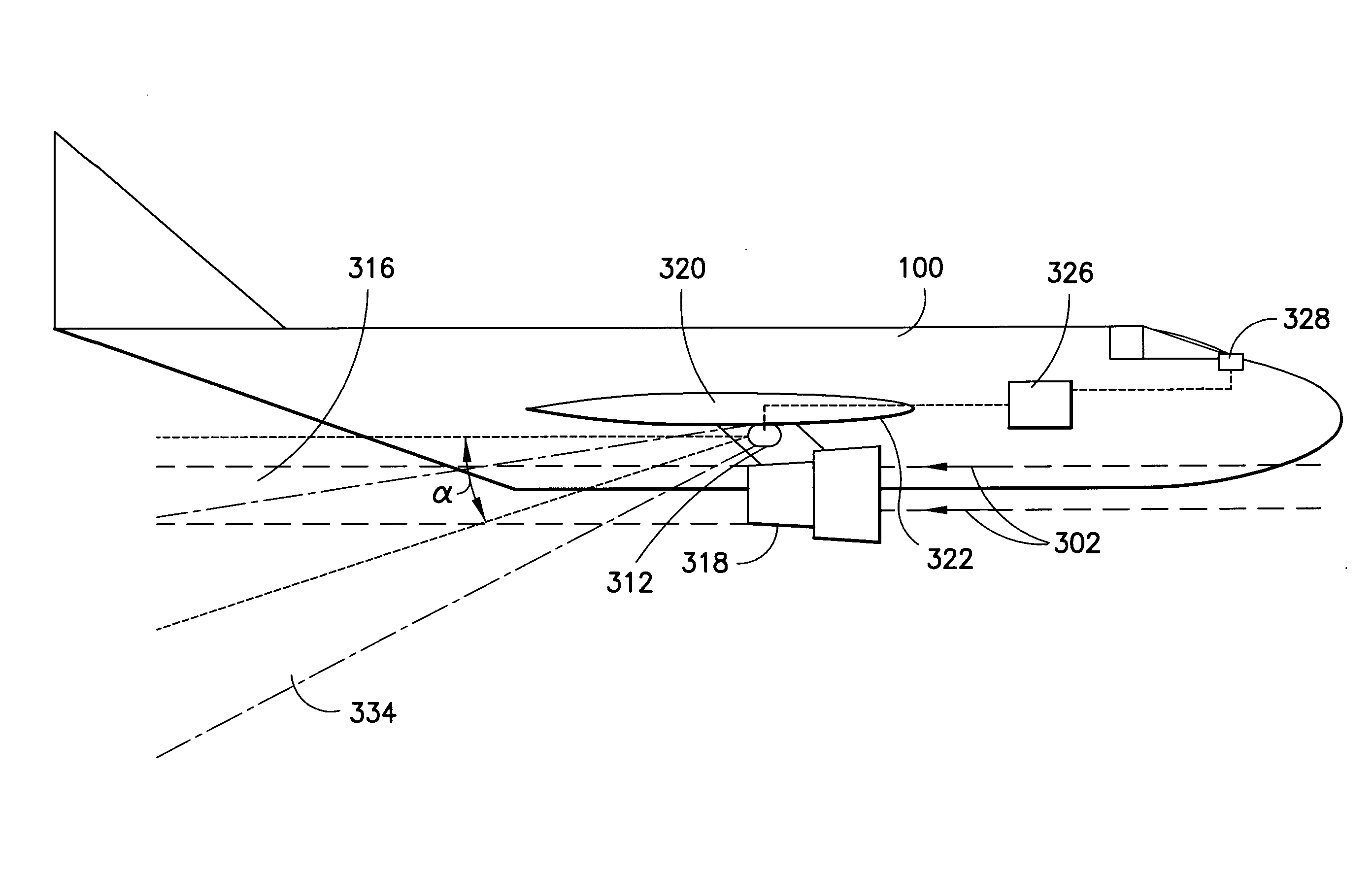 Patent Us8461531 Detecting Volcanic Ash In Jet Engine Exhaust Diagram Drawing