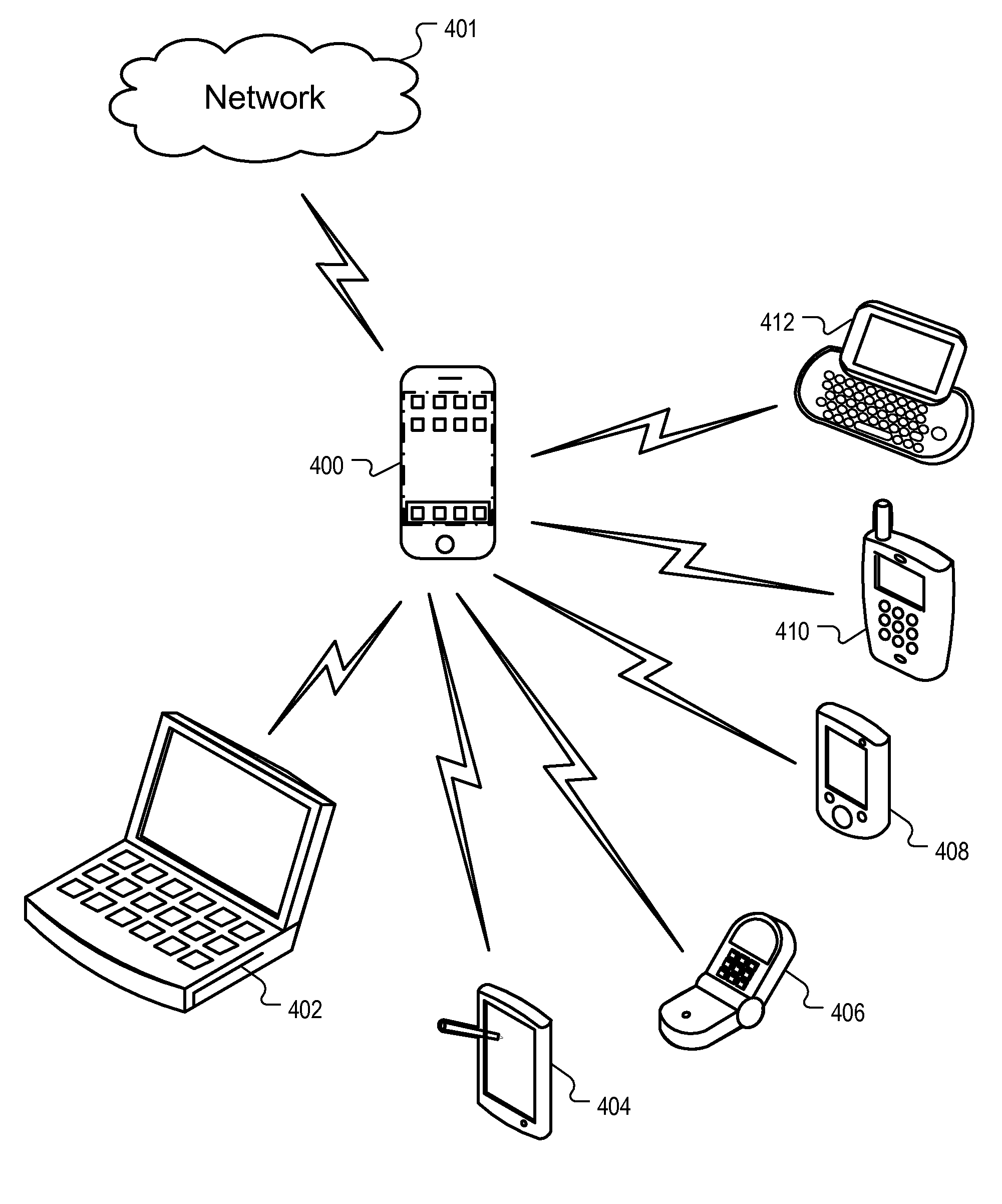 patent us8463238 - mobile device base station
