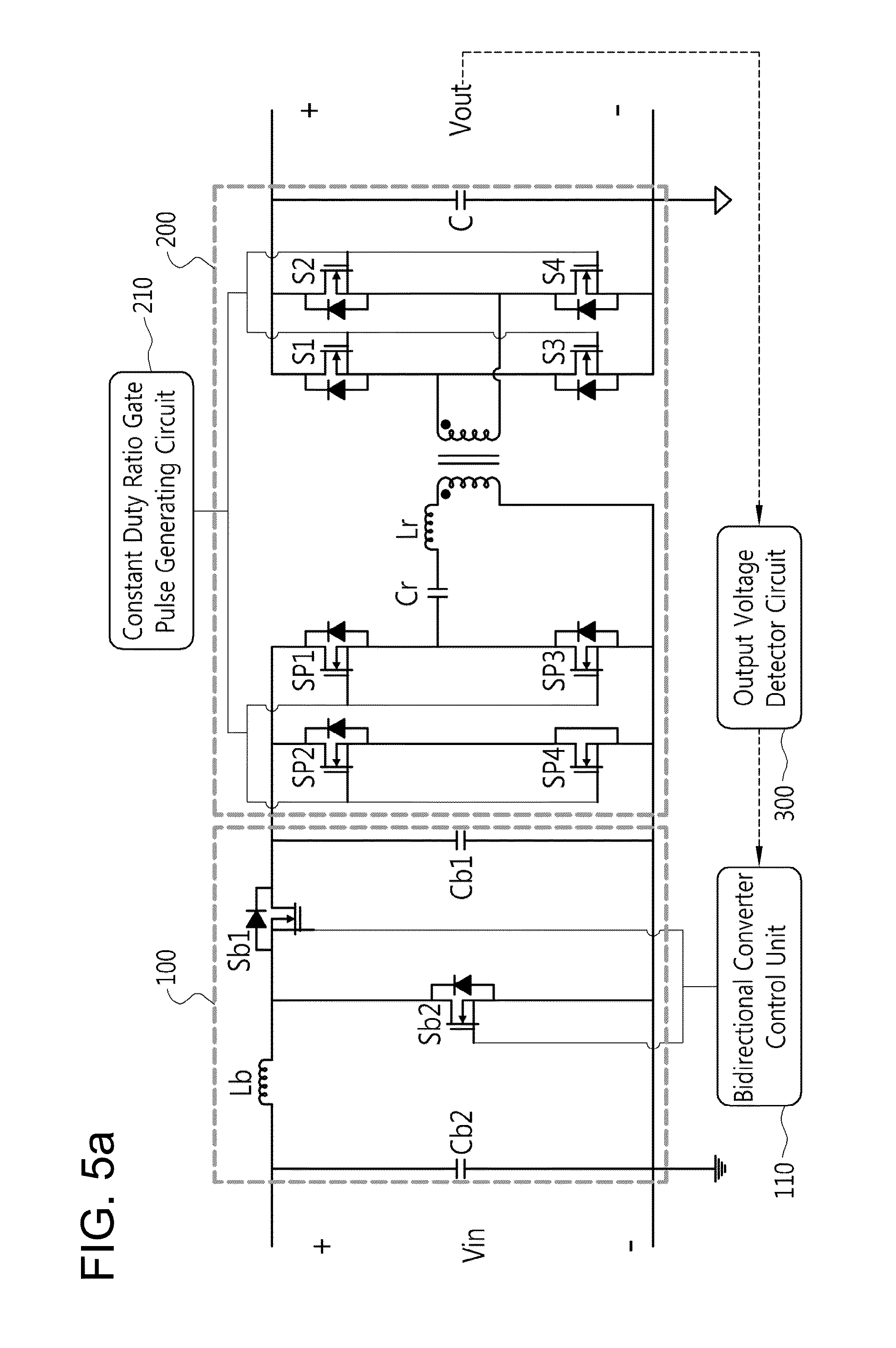 Patent Us8467199 Two Stage Insulated Bidirectional Dc Power Inverter Is Circuit Diagram Electronic Circuits Drawing