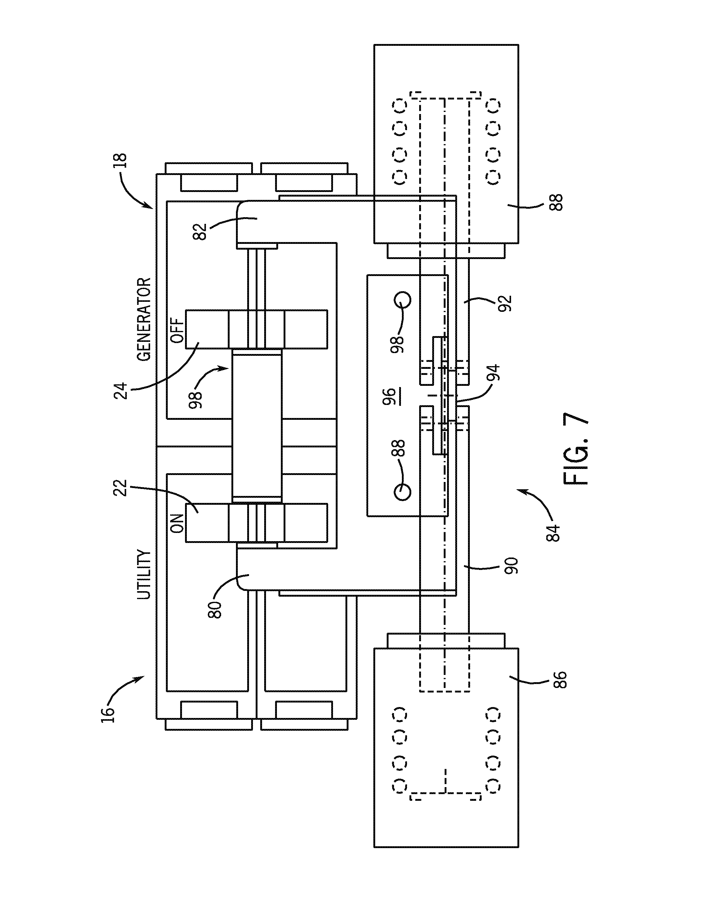 patent us8471659 - automatic transfer switch having an interlock arrangement