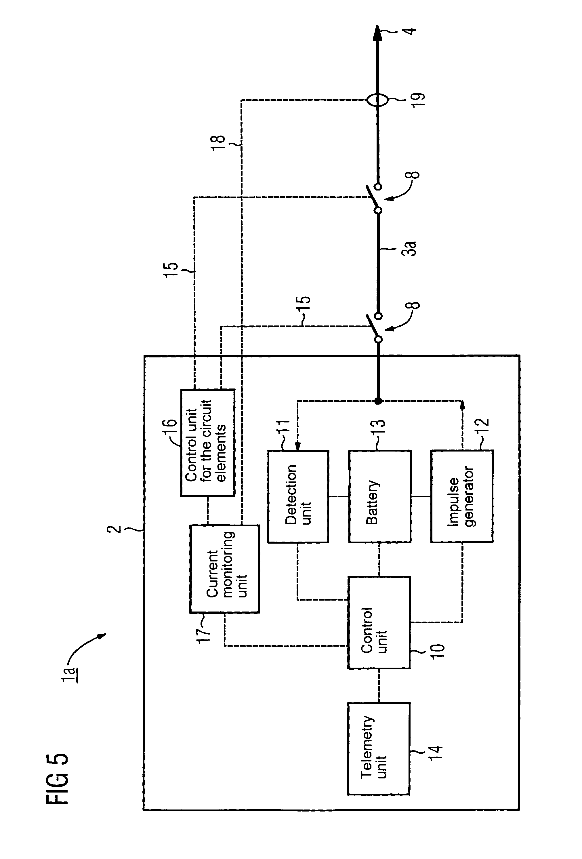 patent us8473052 - implantable pacemaker