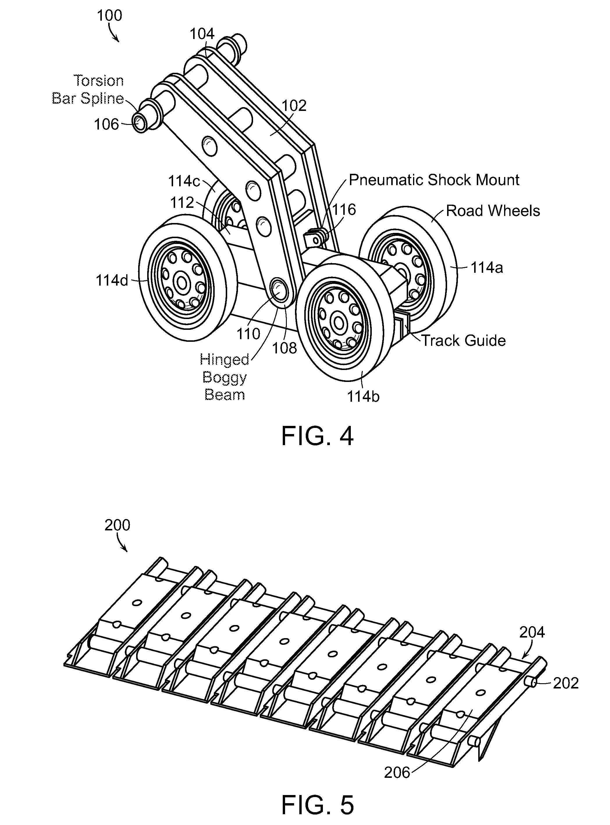 Patent Us8474554 Fast Tracked Ground Vehicle Google