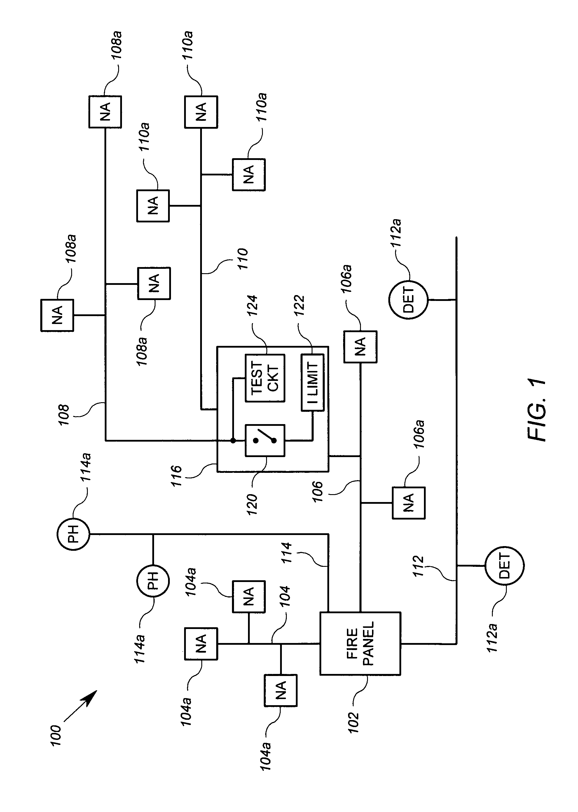 Patent Us8477042 Apparatus For Signaling Different Notification Positive High Voltage Hot Swap Controller With Opencircuit Detect Drawing