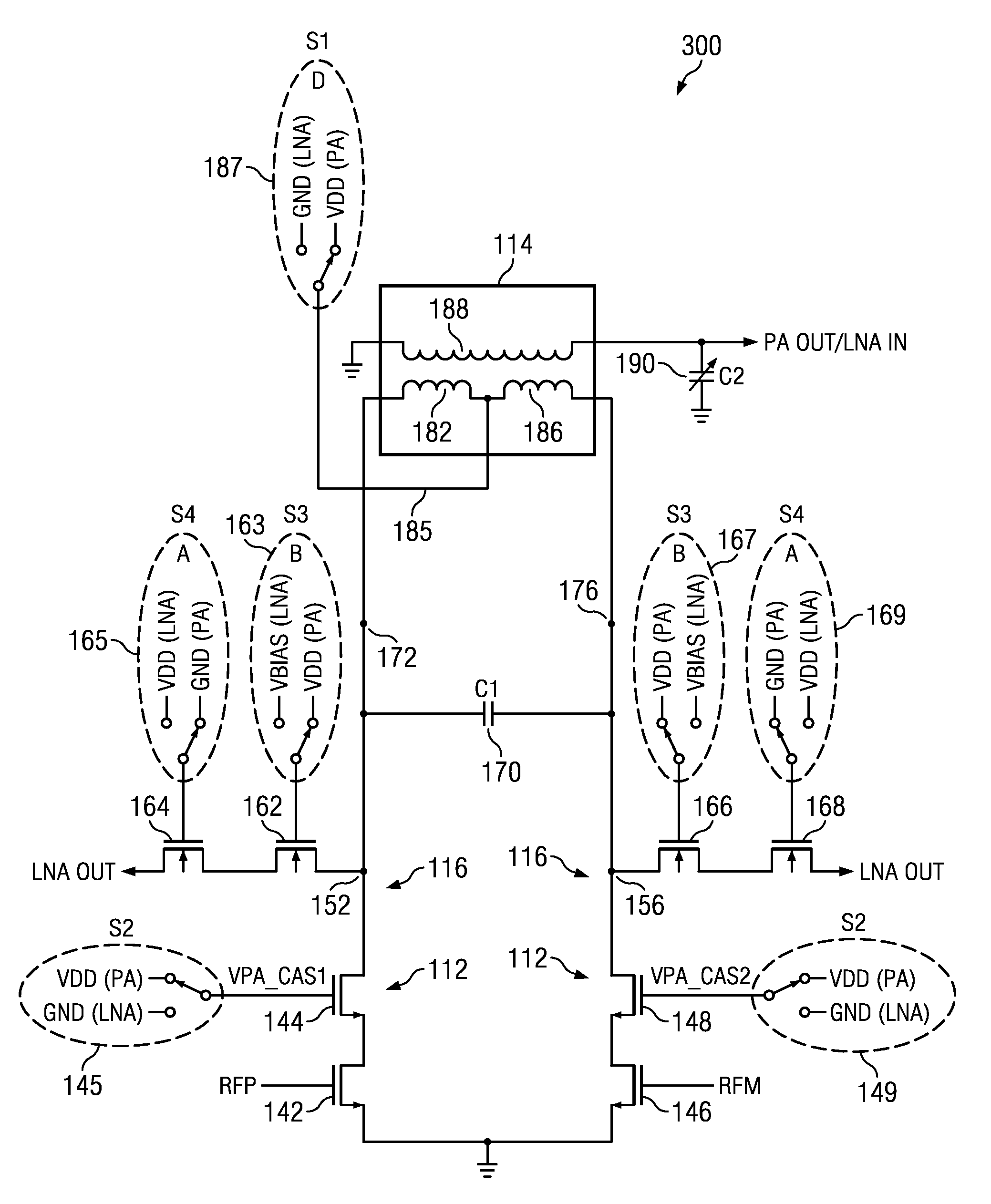 brevet us8483627 circuits processes devices and systems for full Ir Sensor Circuit Diagram patent drawing