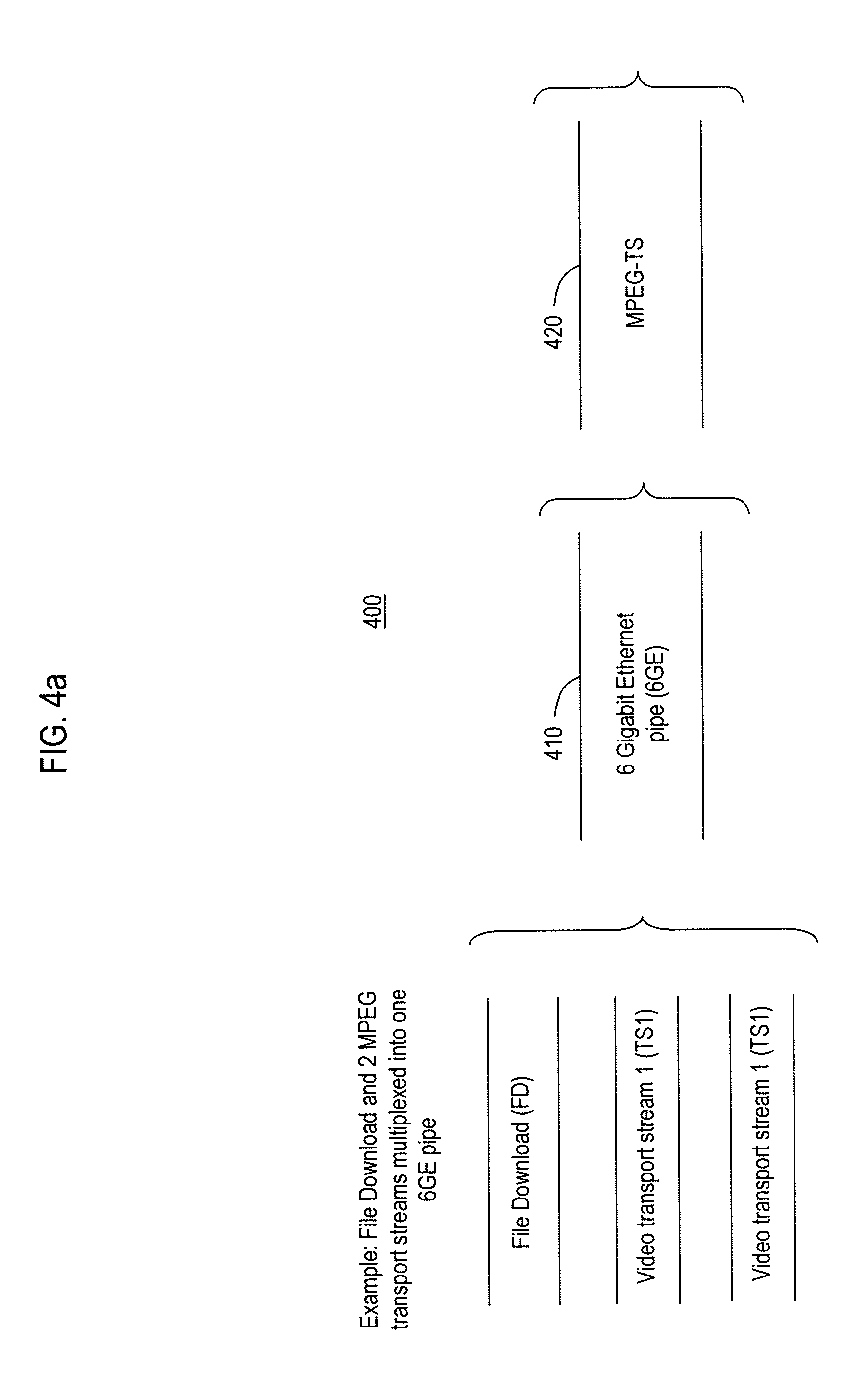 Patent Us8489958 Docsis Mac Phy Downstream Convergence Layer Figure 1 Block Diagram Of The Mpeg Multiplexer Drawing