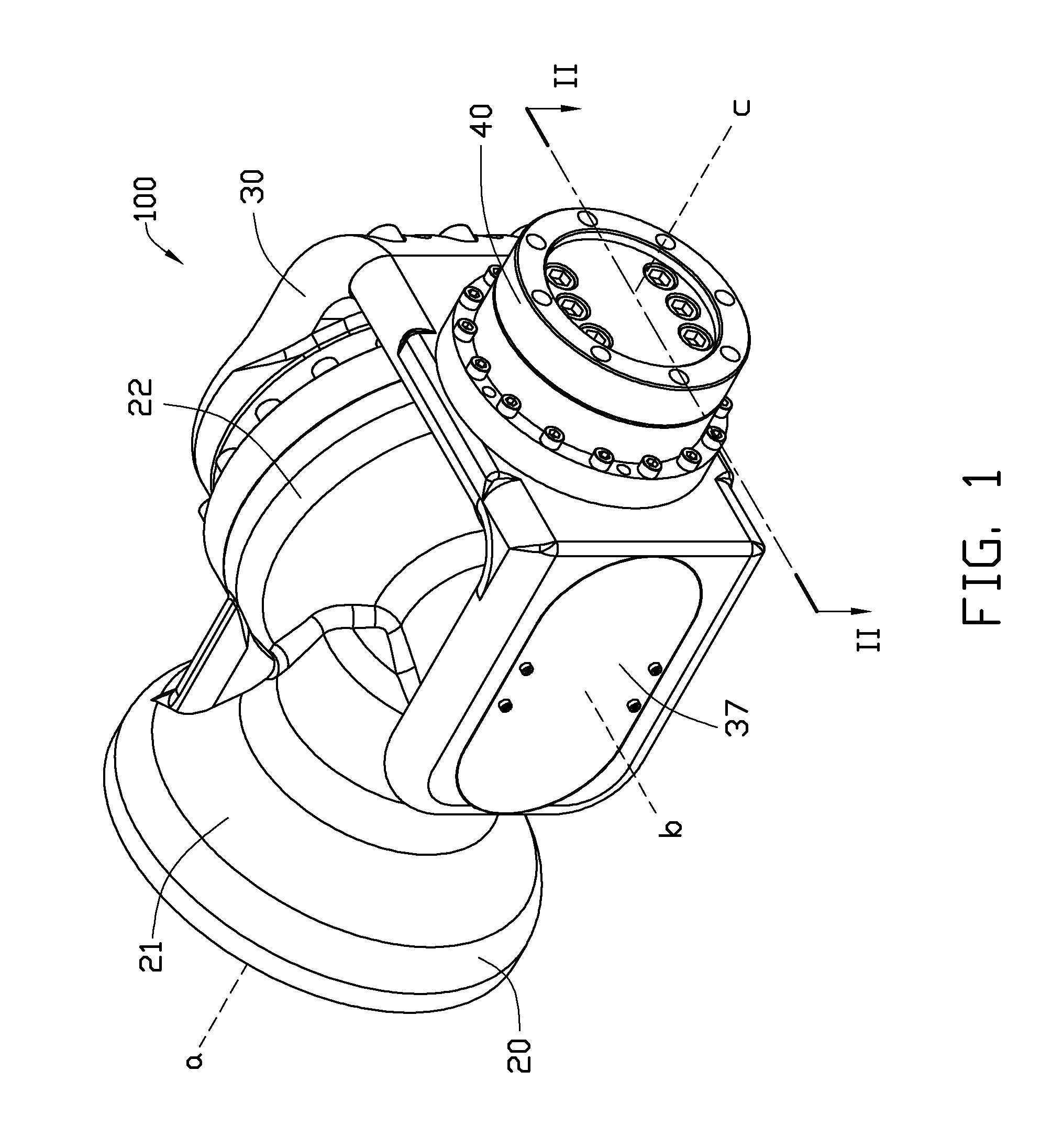 patent us8511199 - robot arm assembly