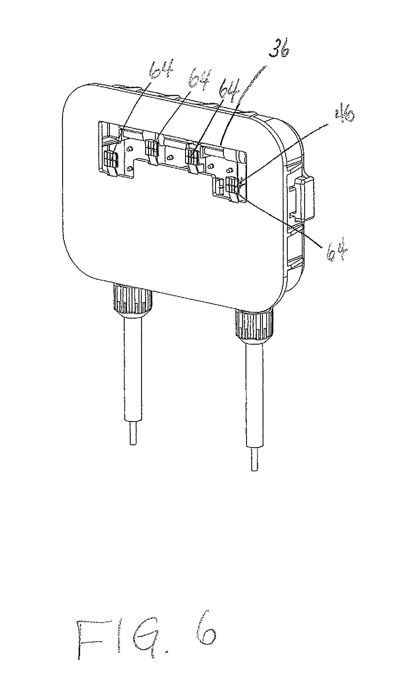 patent us8512050 - solar panel junction box