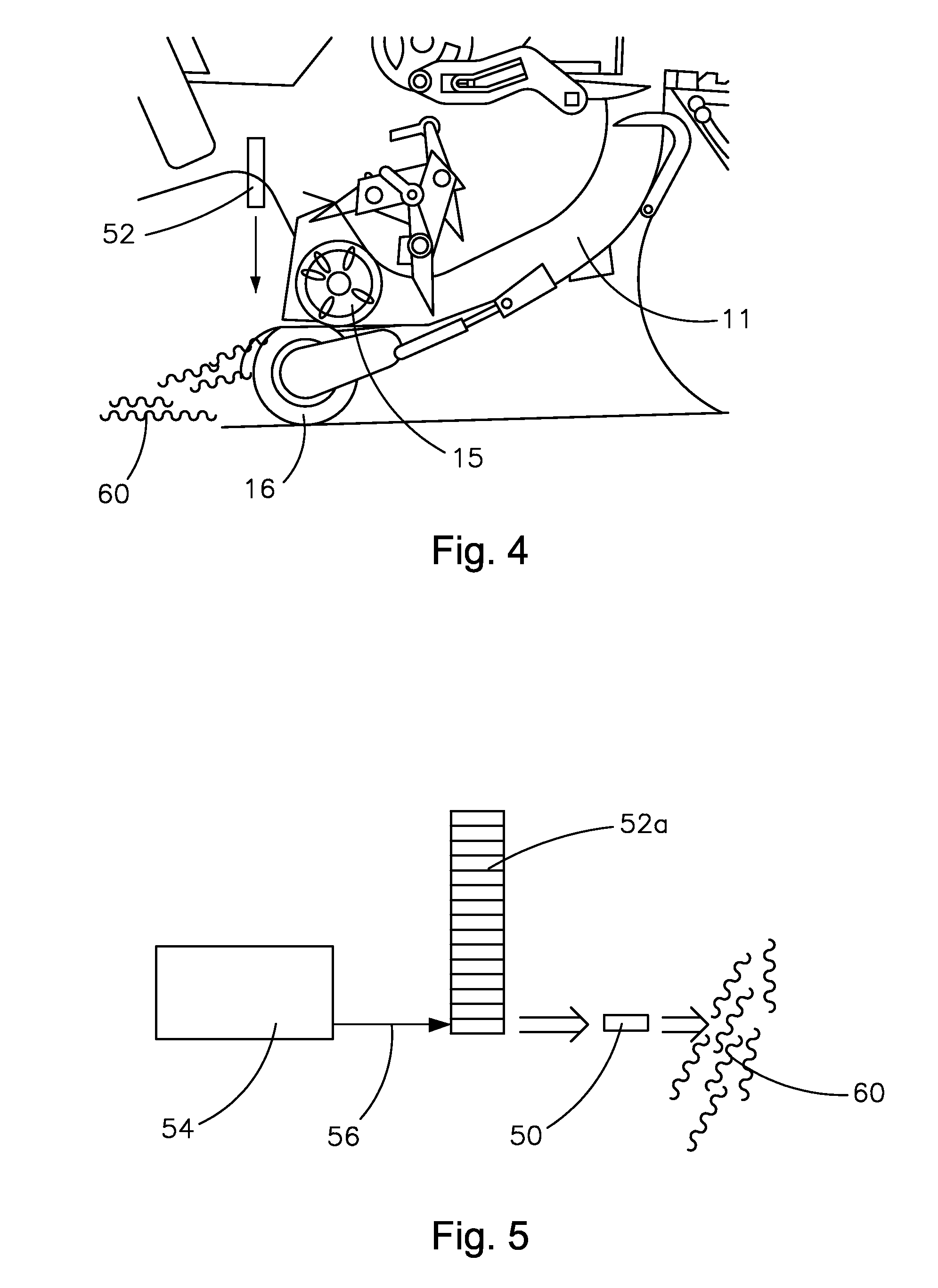 patent us8516954 method of tagging square bales patents Baling Hay Hot patent drawing