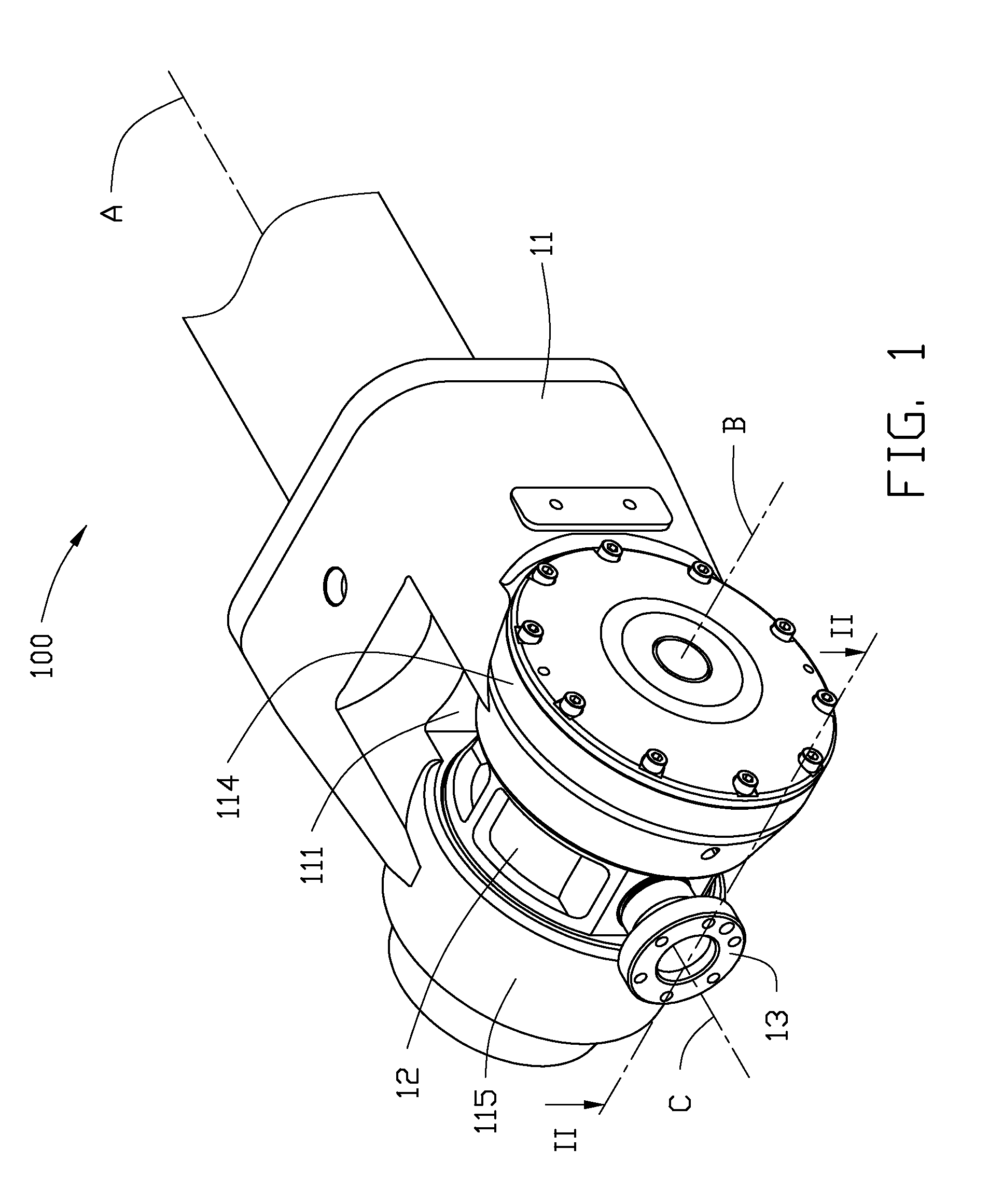 patent us8534155 - robot arm assembly