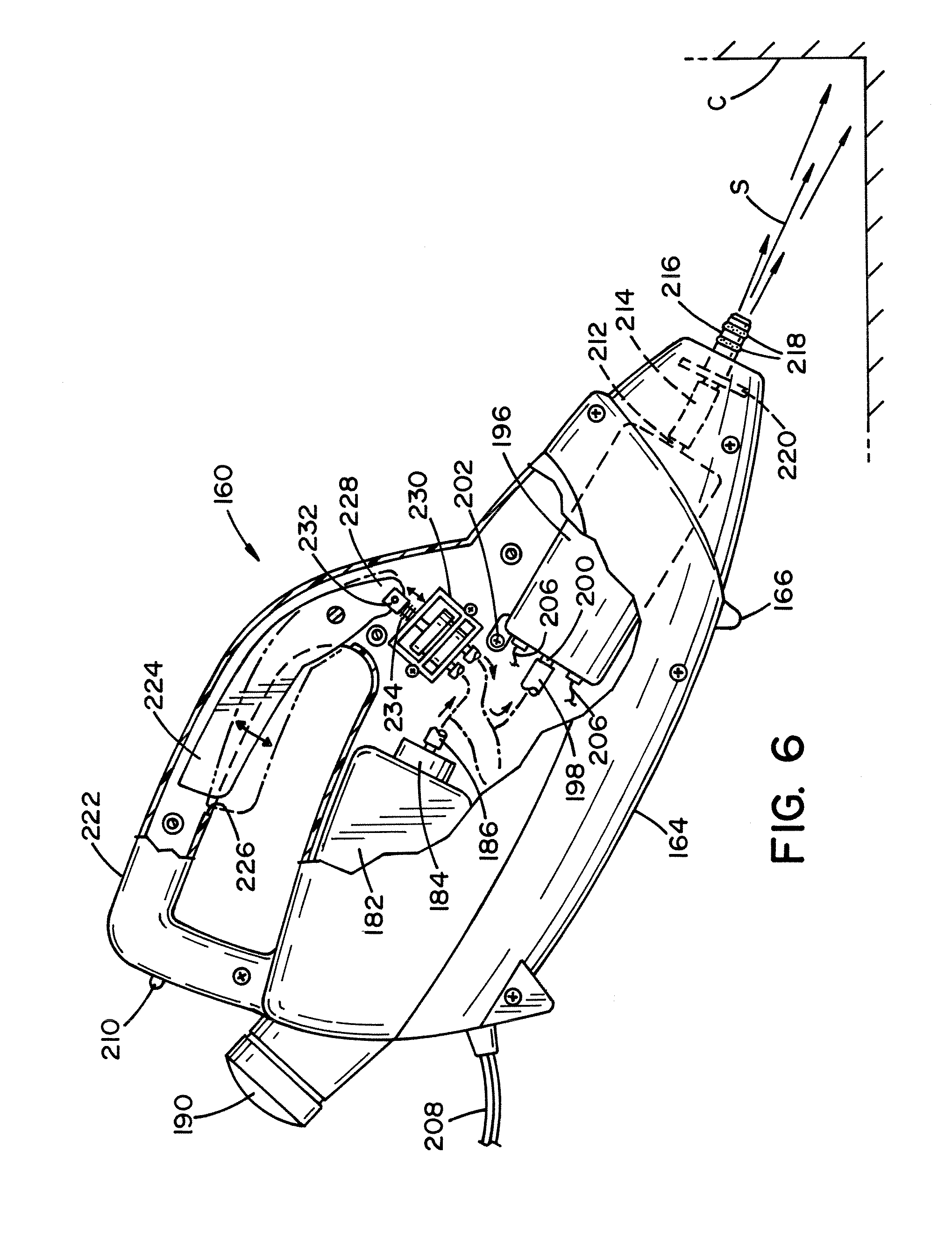 Patent Us8534301 Steam Mop Google Patents Carpet Extractor Diagram And Parts List For Bissell Wetcarpetcleaner Drawing
