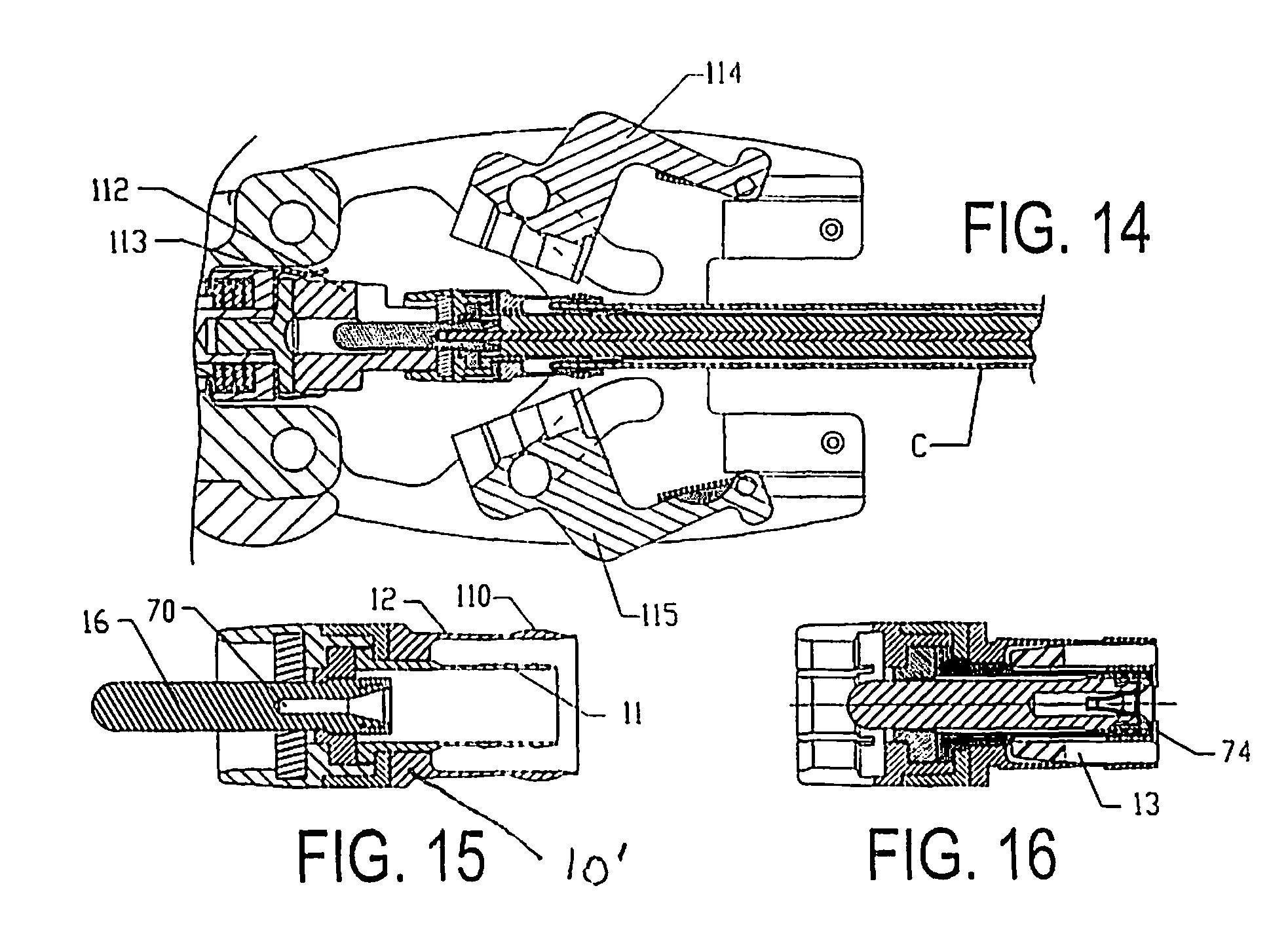 patent us8535092 - mini-coax cable connector