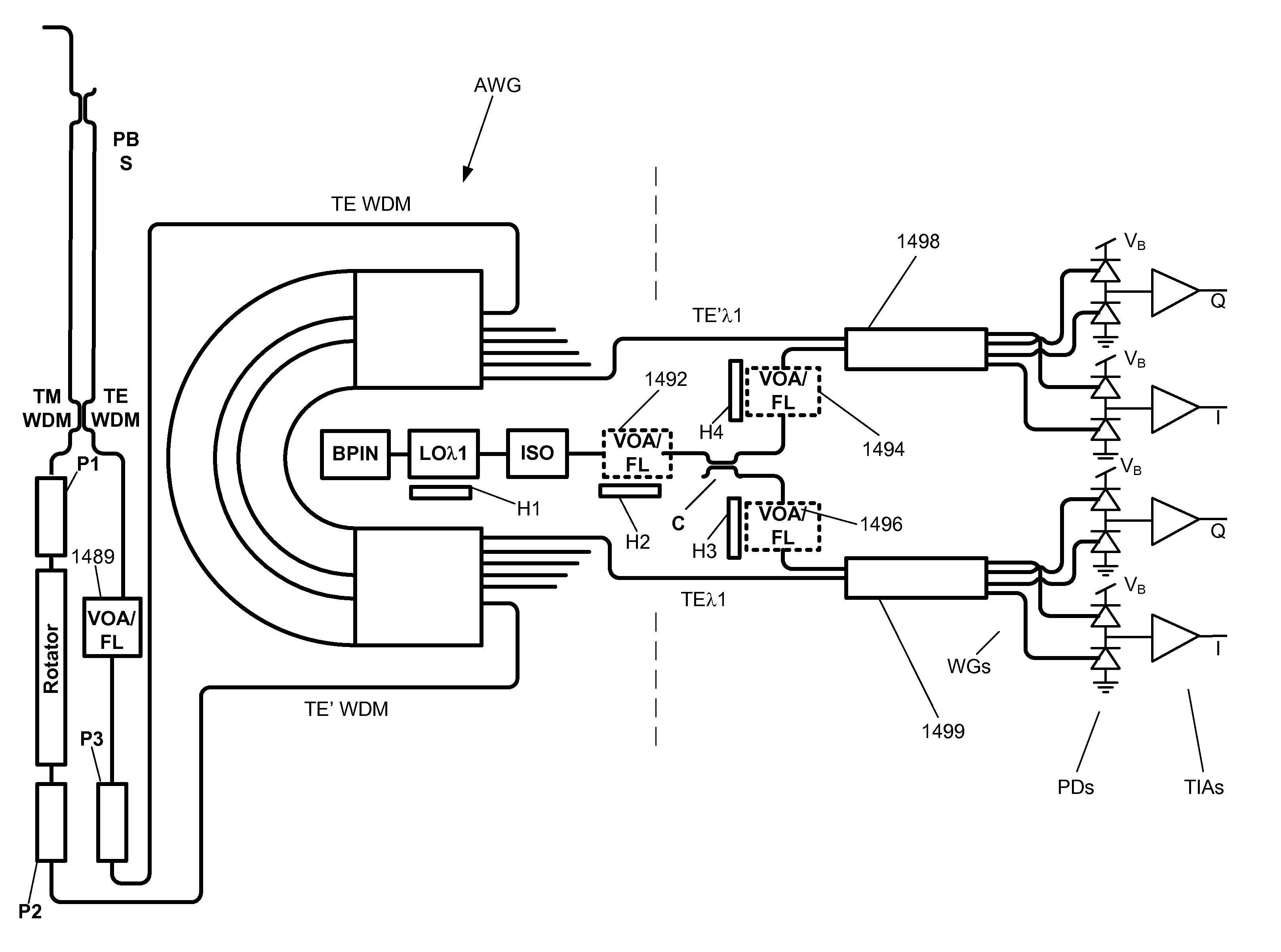 patent us8538277 - coherent optical receiver