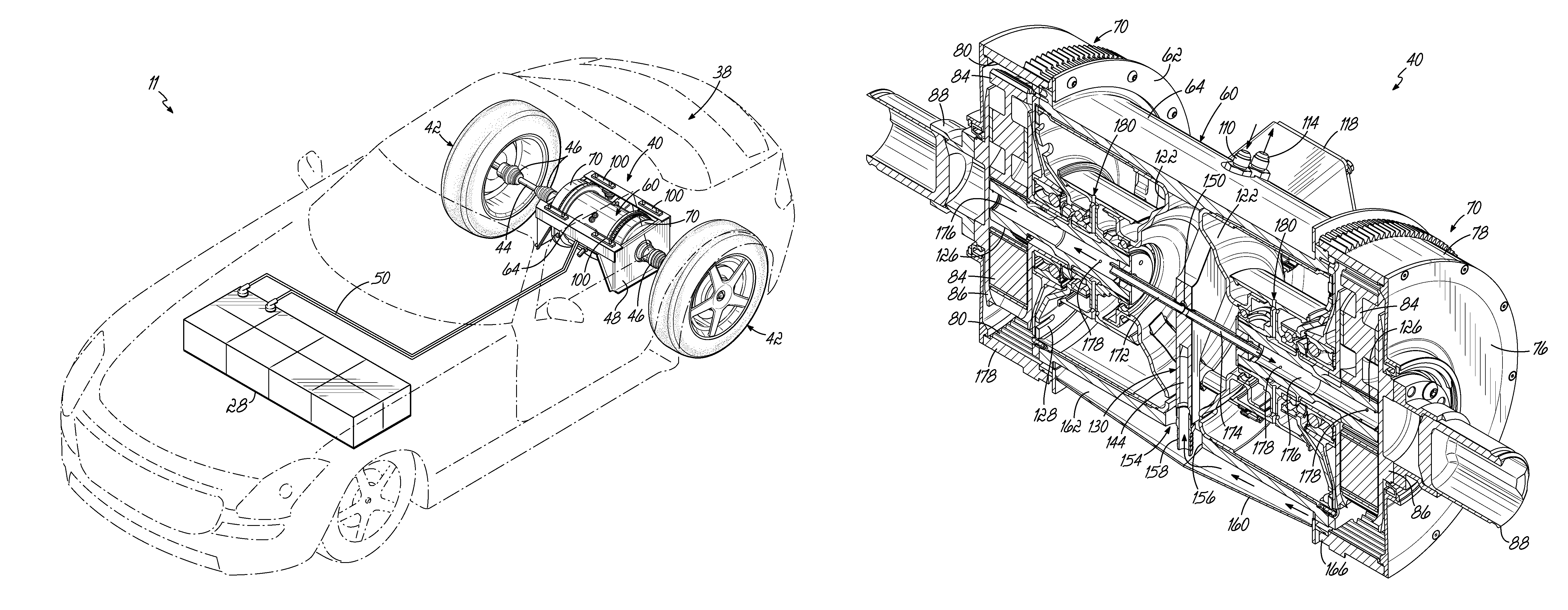 Tesla Engine Diagram Patent Us Drive Module And Manifold For Electric Motor Drawing Turbine Links