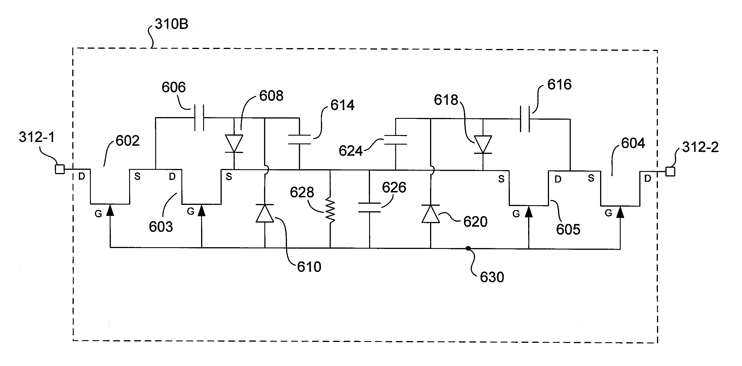 Capacitor Discharge Circuit Patent Us8541987 Low Loss Circuits For Emi Filter Drawing
