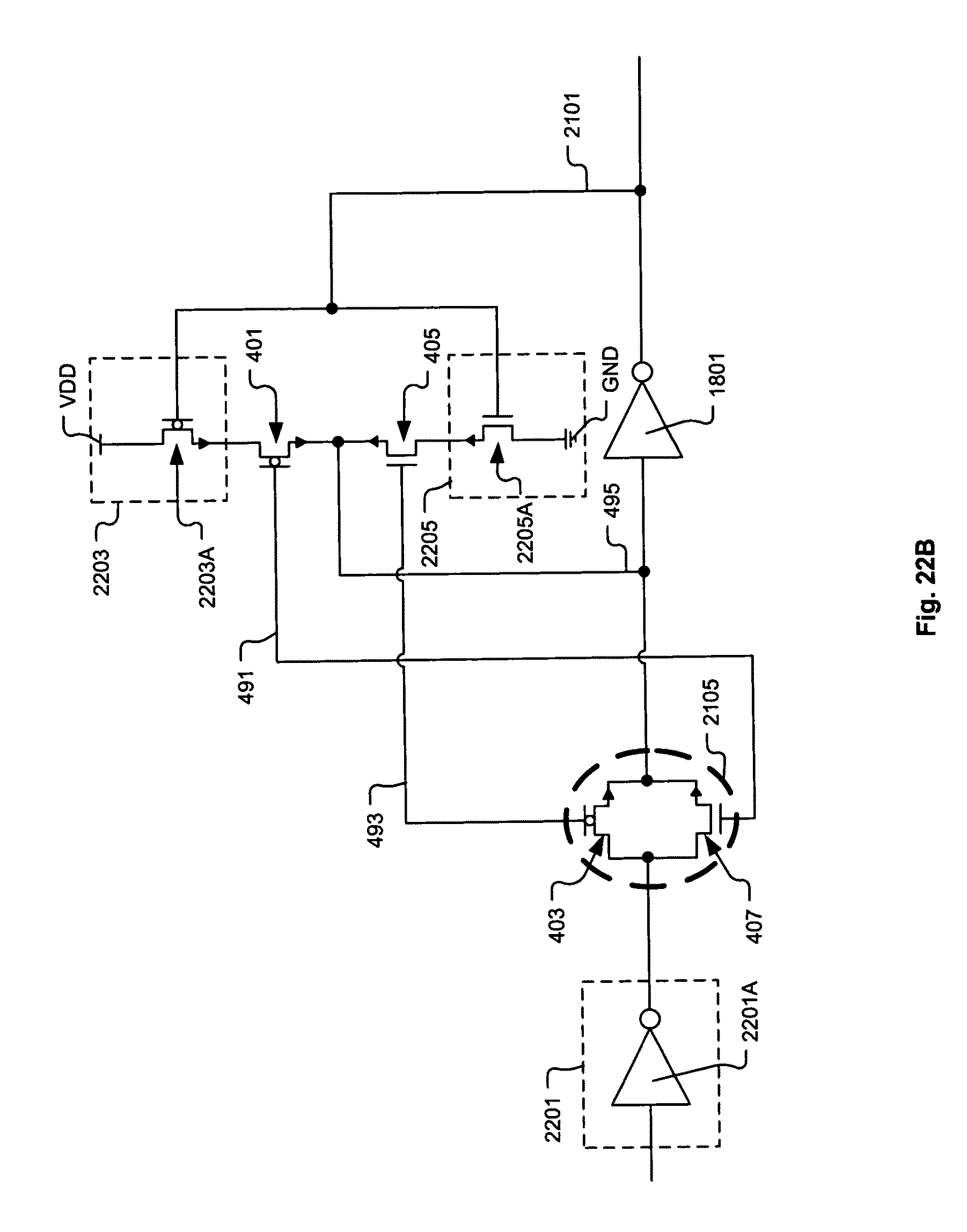E67 Wiring Diagram Patent Us8552509 Integrated Circuit Including Cross Coupled Drawing