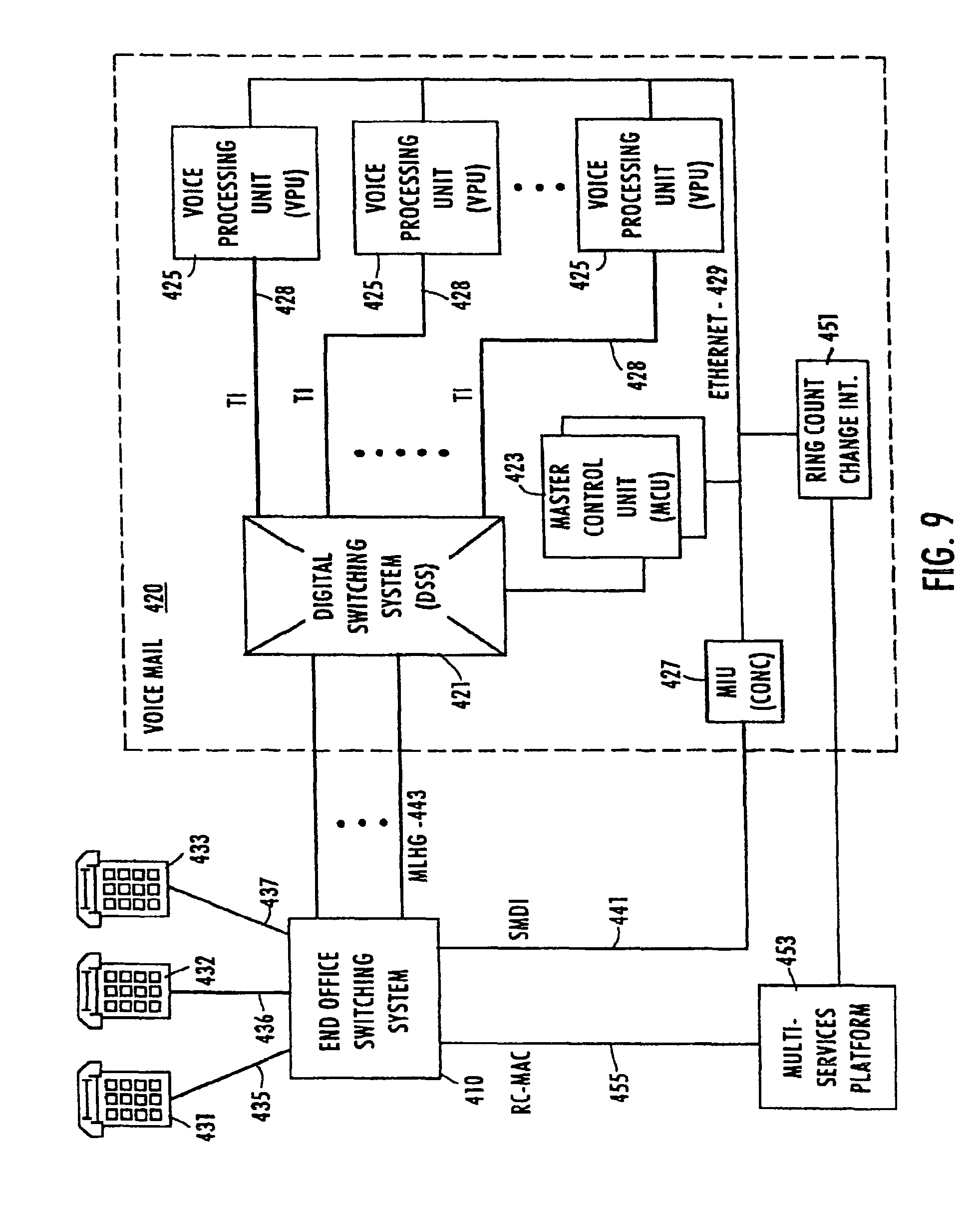 Patent Us8553681 Telephone Service Via Packet Switched Networking The Tcp Ip Guide Circuit Switching And Networks Drawing